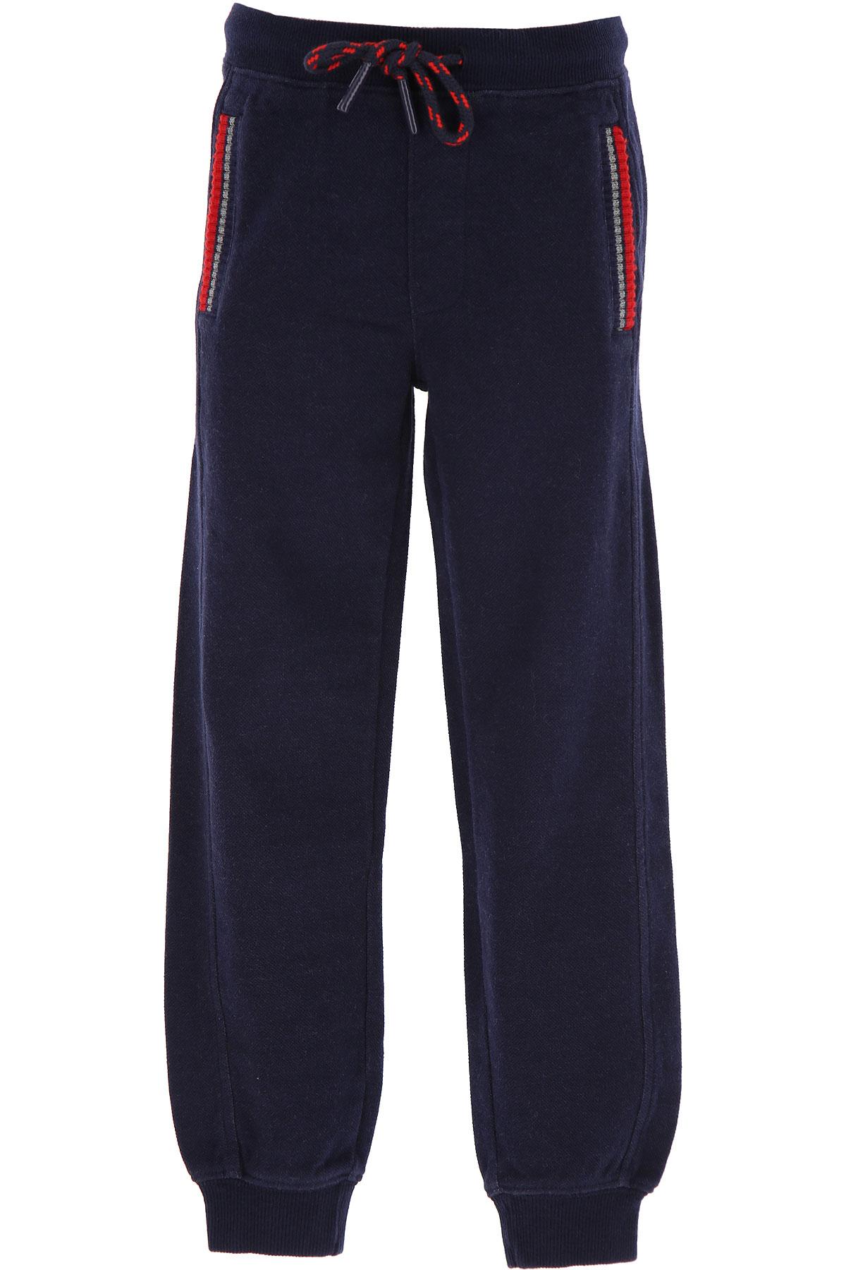 Sun68 Kids Sweatpants for Boys On Sale, Blue, Cotton, 2019, 2Y 4Y