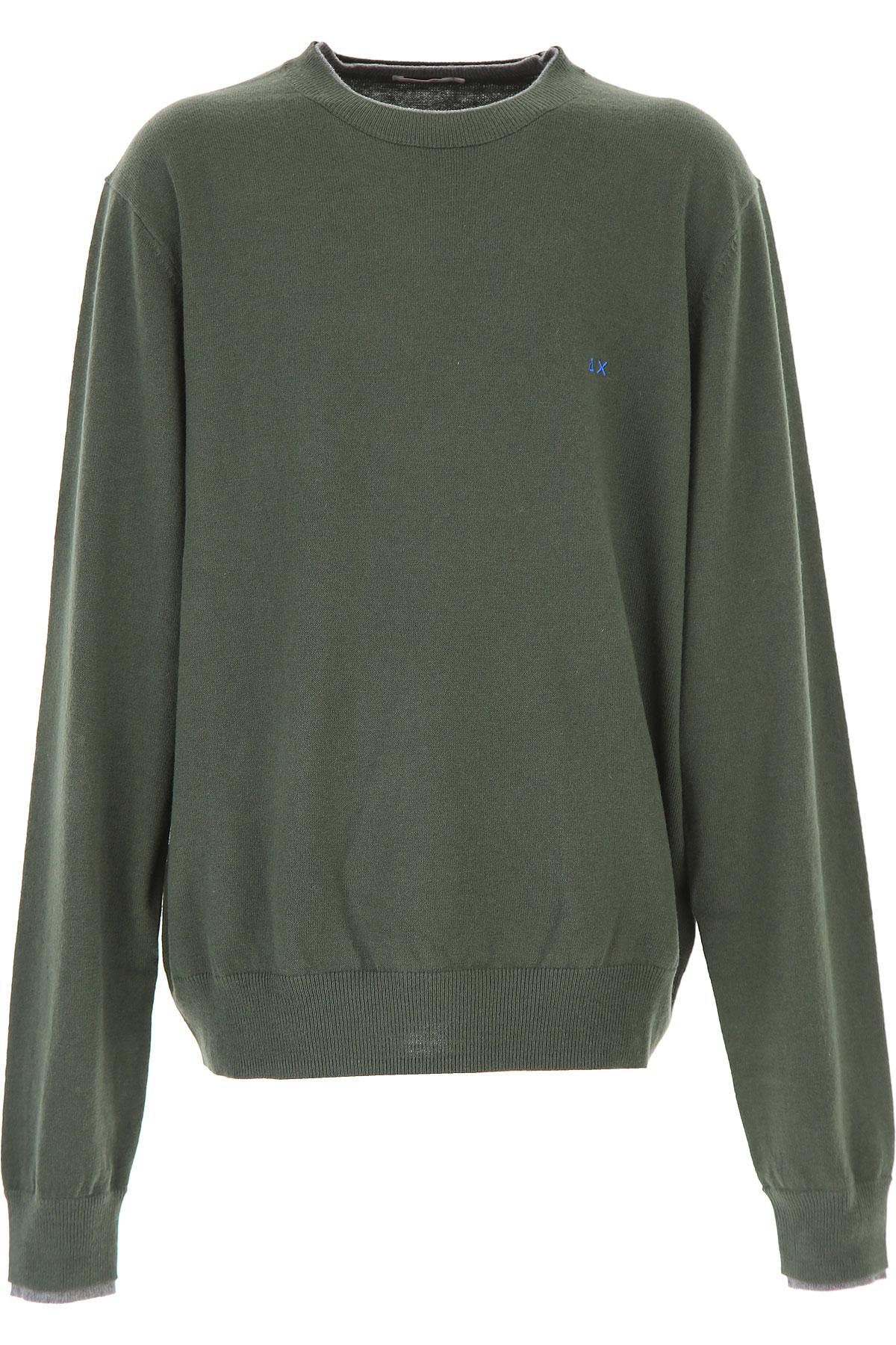 Image of Sun68 Kids Sweaters for Boys, Dark Green, Wool, 2017, 10Y 14Y 16Y 2Y 4Y 6Y 8Y