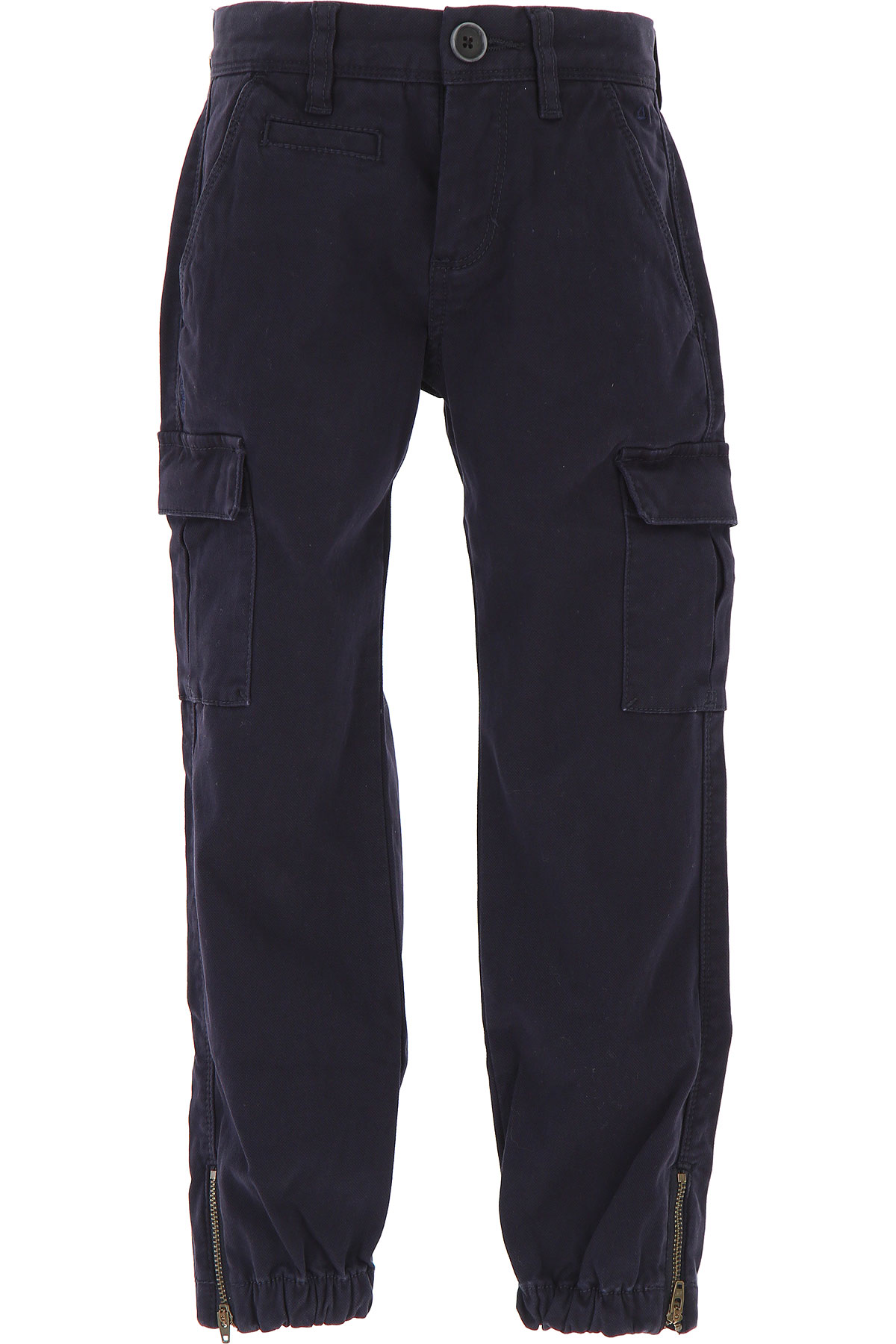 Image of Sun68 Kids Pants for Boys, navy, Cotton, 2017, 10Y 4Y