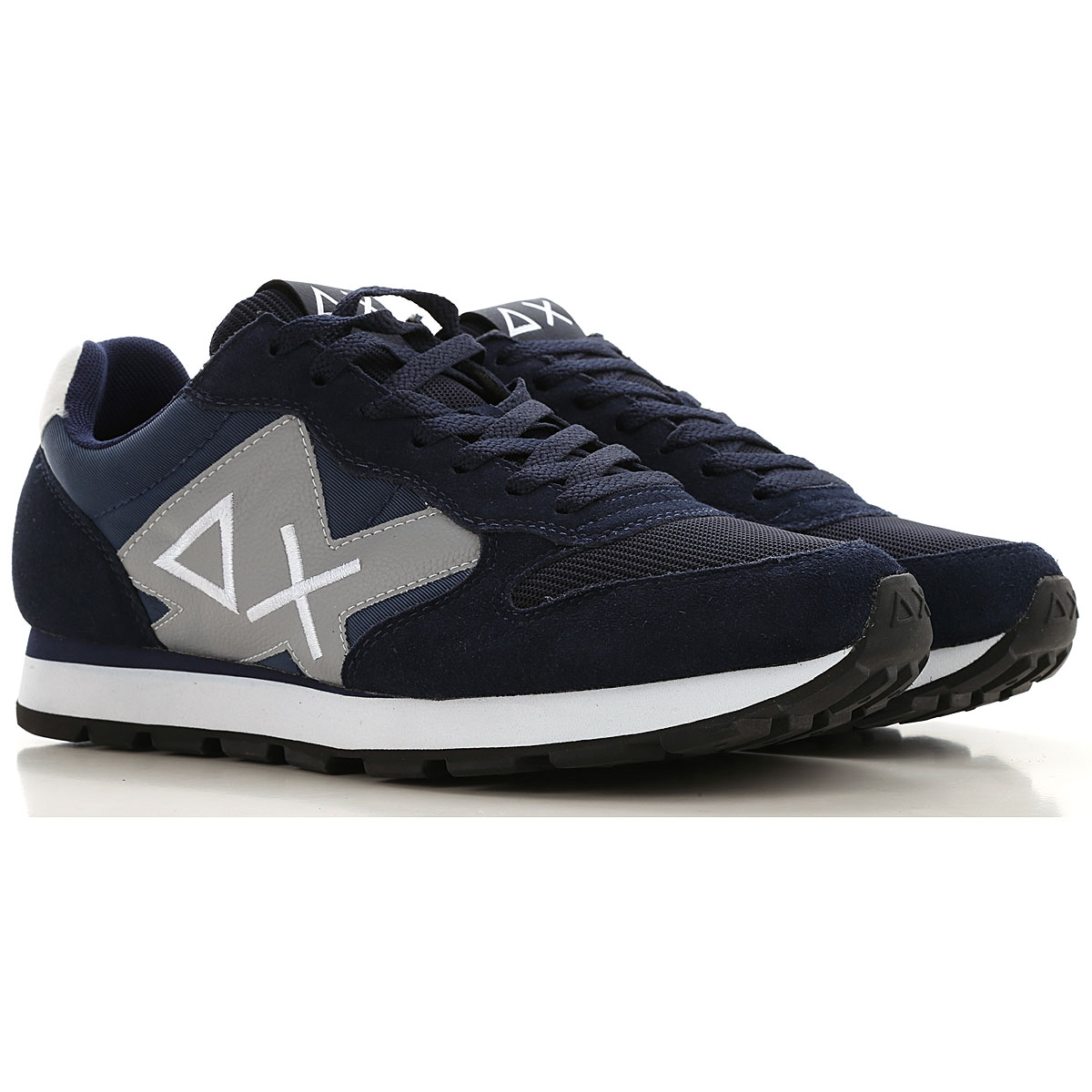 Sun68 Sneakers for Men On Sale, Blue Navy, Leather, 2019, 10 10.5 11.5 7.5 8