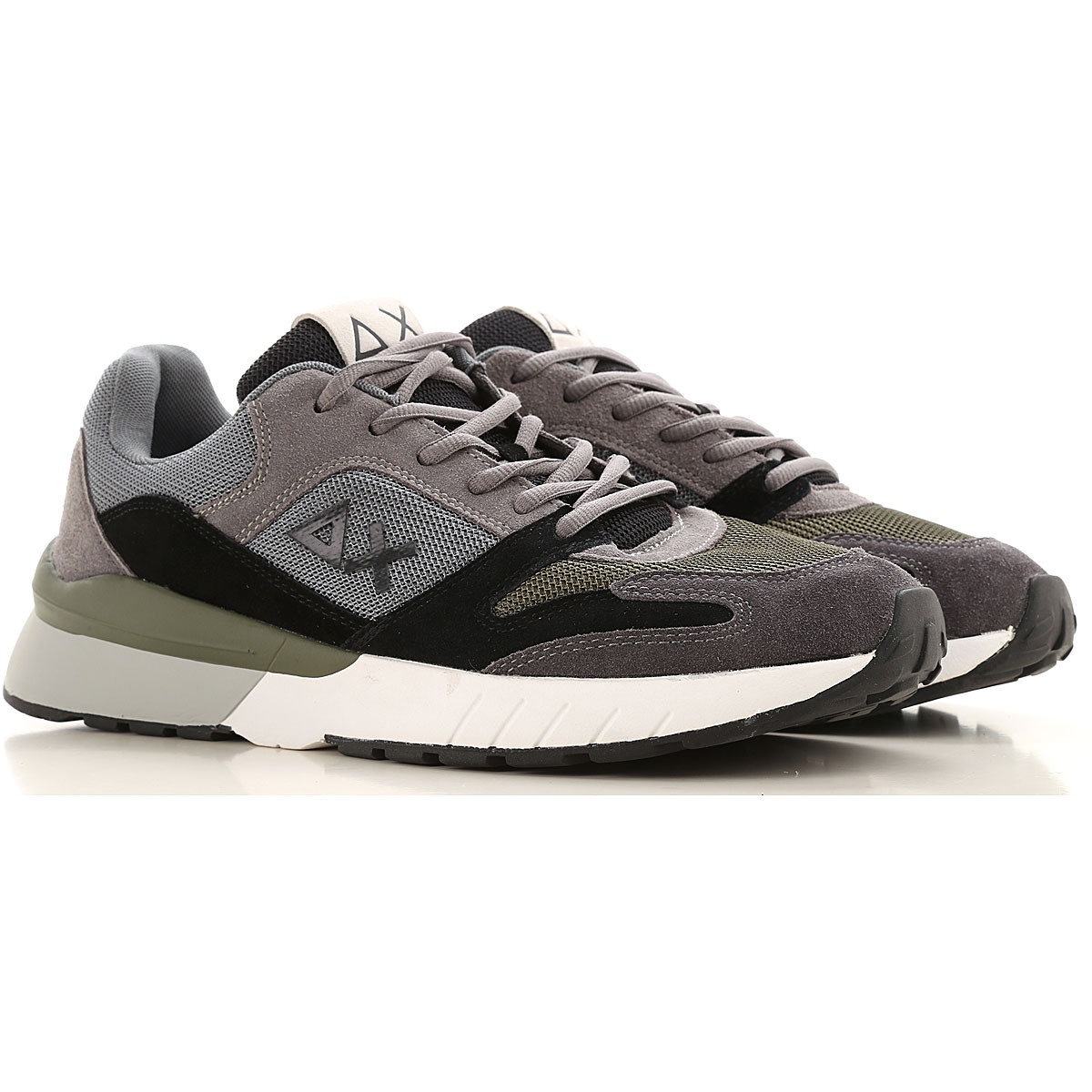 Sun68 Sneakers for Men On Sale, Grey, Textile, 2019, 10.5 11.5 12 7.5 8