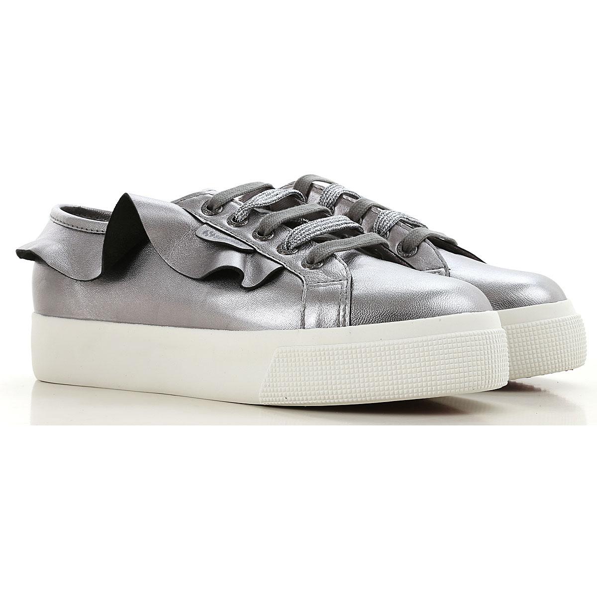 Superga Sneakers for Women On Sale, Metal Gun, Nappa, 2019, ITA 41 - USA 10.5 - UK 8 ITA 36 - USA 5.5 - UK 3