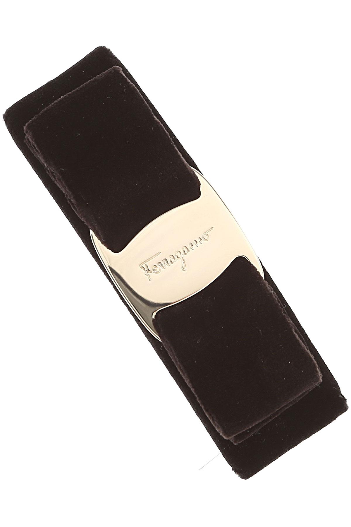 Image of Salvatore Ferragamo Accessories, Black, Velvet, 2017