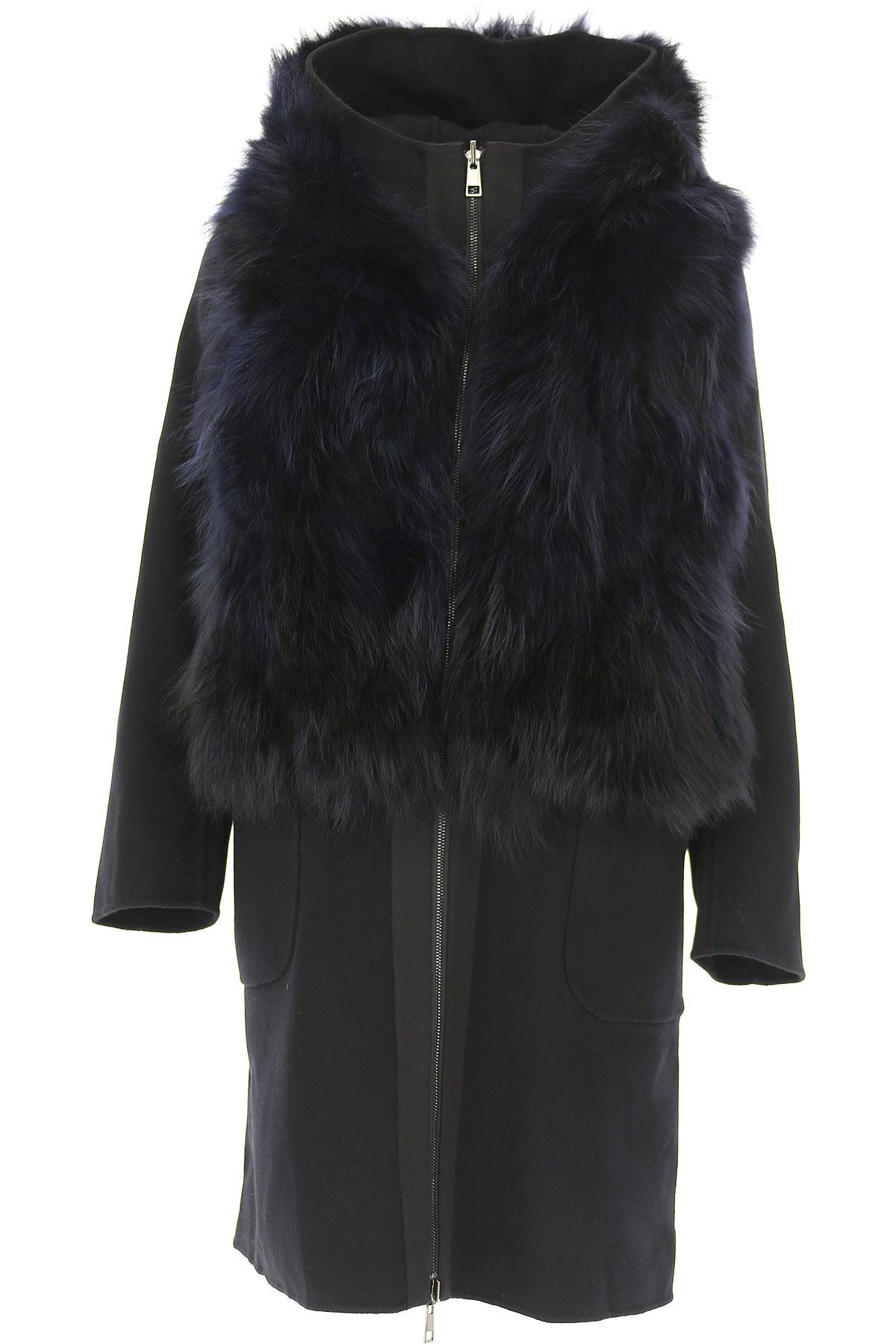 Image of S.W.O.R.D Jacket for Women, Black, Fur, 2017, FR 34 • IT 38 FR 36 • IT 40 FR 38 • IT 42 FR 40 • IT 44