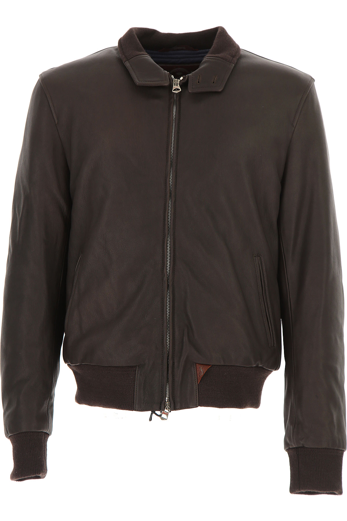 Image of Stewart Leather Jacket for Men, Brown, Leather, 2017, L XL