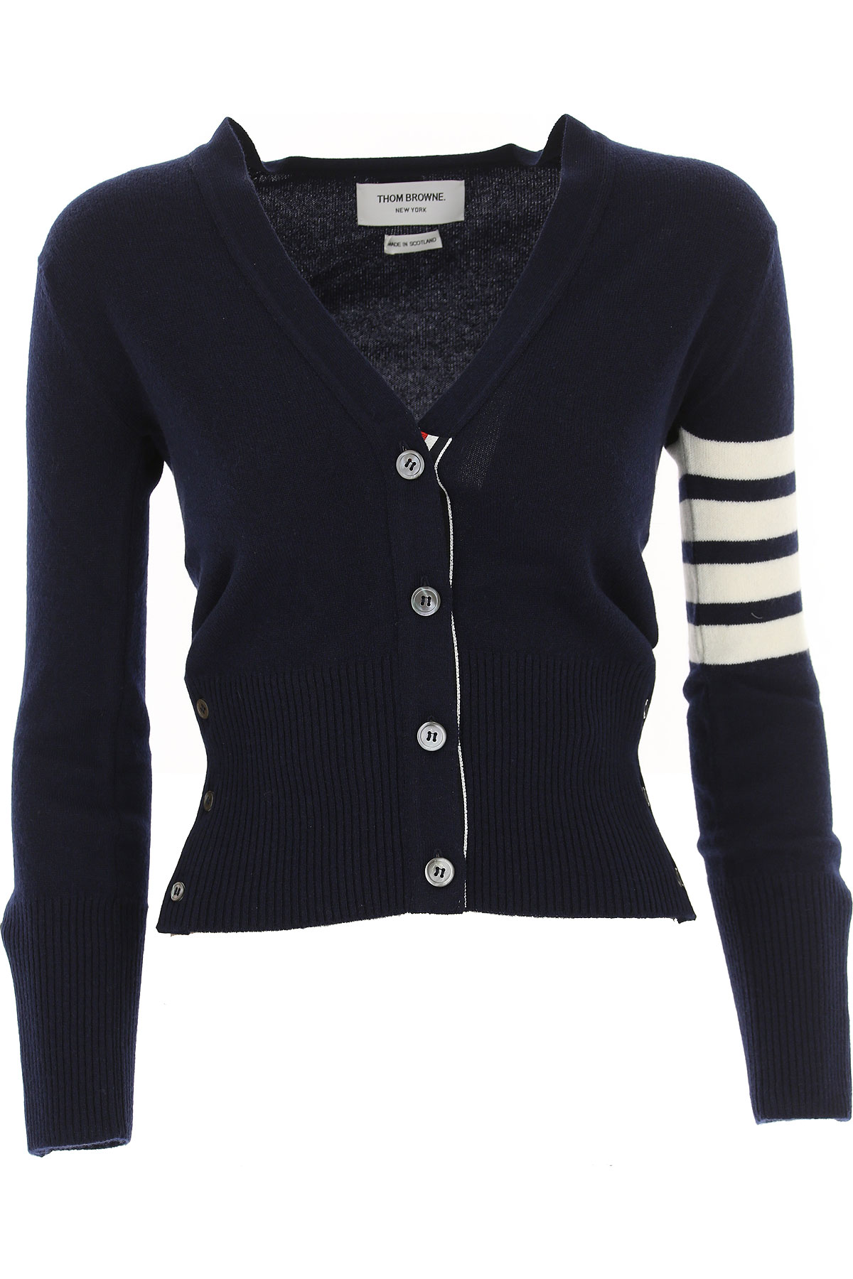 Image of THOM BROWNE Sweater for Women Jumper, navy, Cashmere, 2017, 2 8