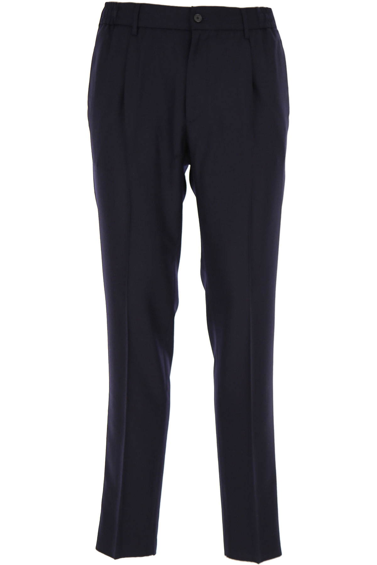 Tagliatore Pants for Men, Blue, acetate, 2019, 30 32 34 36