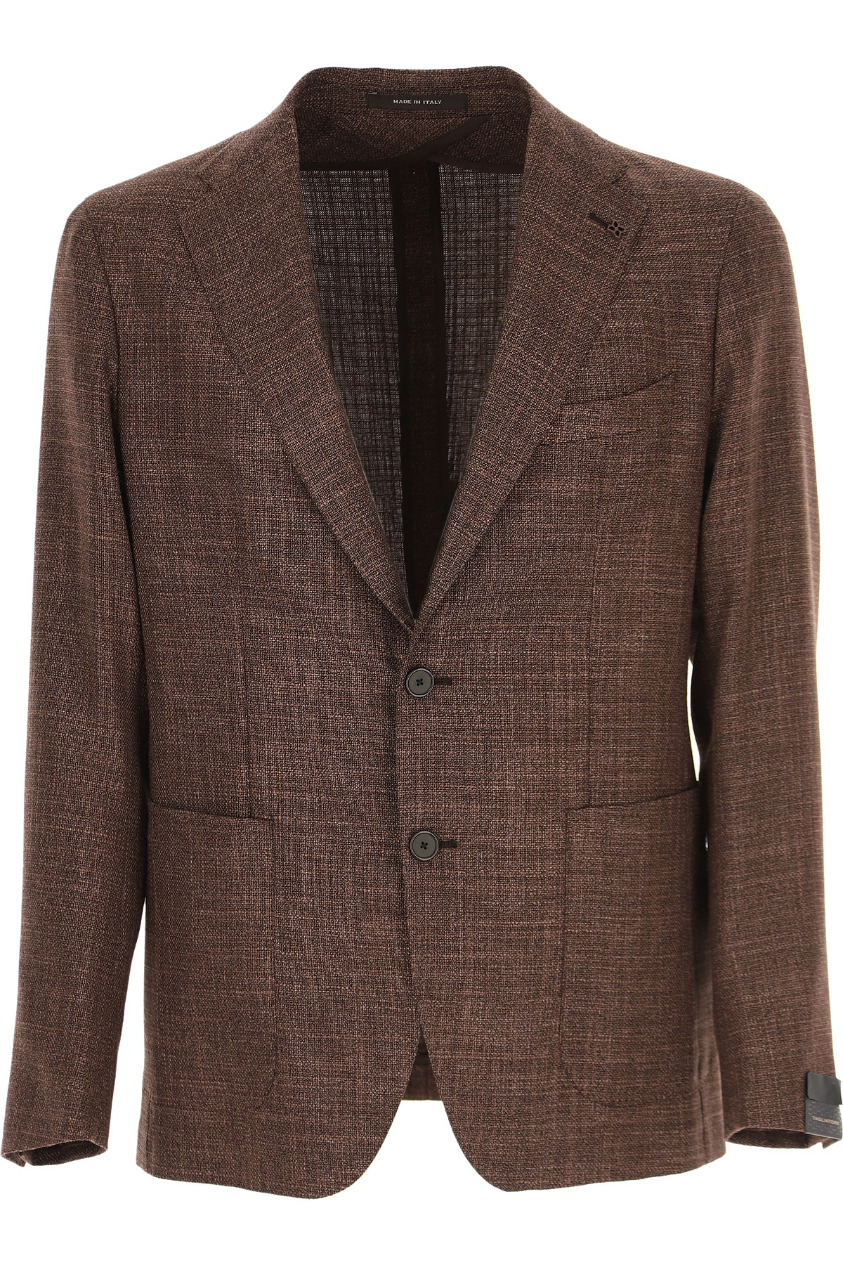 Tagliatore Blazer for Men, Sport Coat On Sale, Brown, Wool, 2019, L M XL XXL