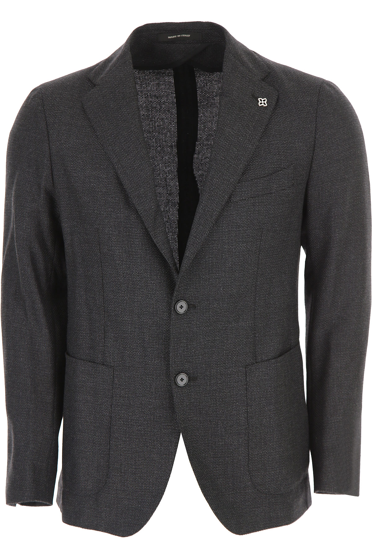 Image of Tagliatore Blazer for Men, Sport Coat, Black, Virgin wool, 2017, L M XL XXL