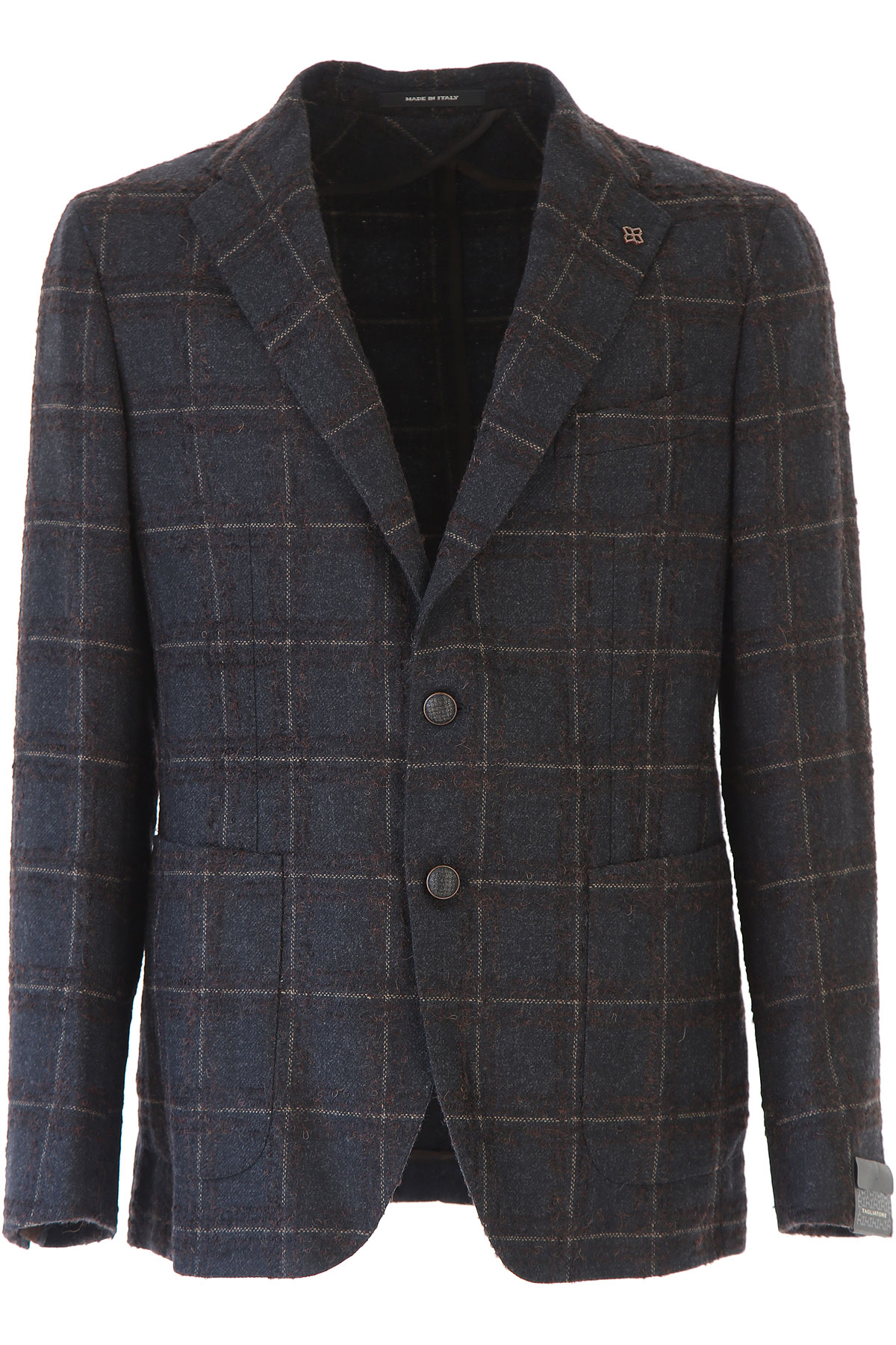 Image of Tagliatore Blazer for Men, Sport Coat, Lead, Virgin wool, 2017, L M XL