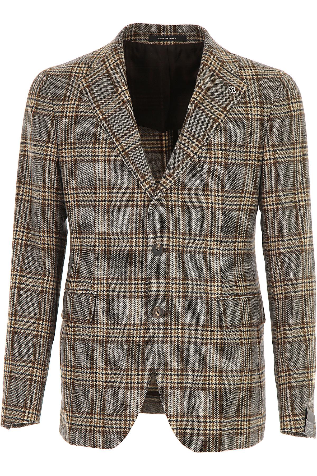 Image of Tagliatore Blazer for Men, Sport Coat, Beige, Wool, 2017, L M XL
