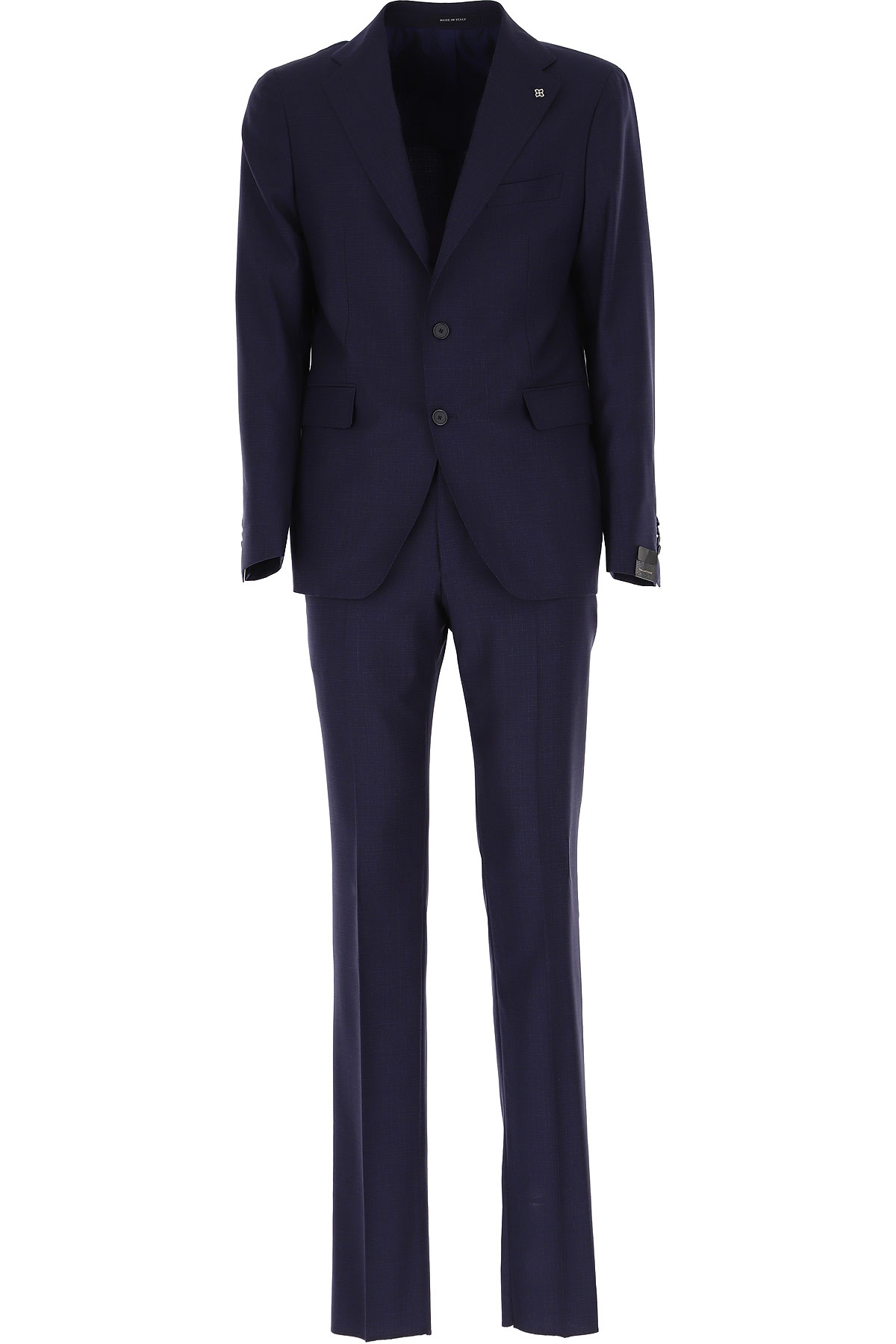 Tagliatore Men's Suit On Sale, Navy Blue, Virgin wool, 2019, L M XL XXL