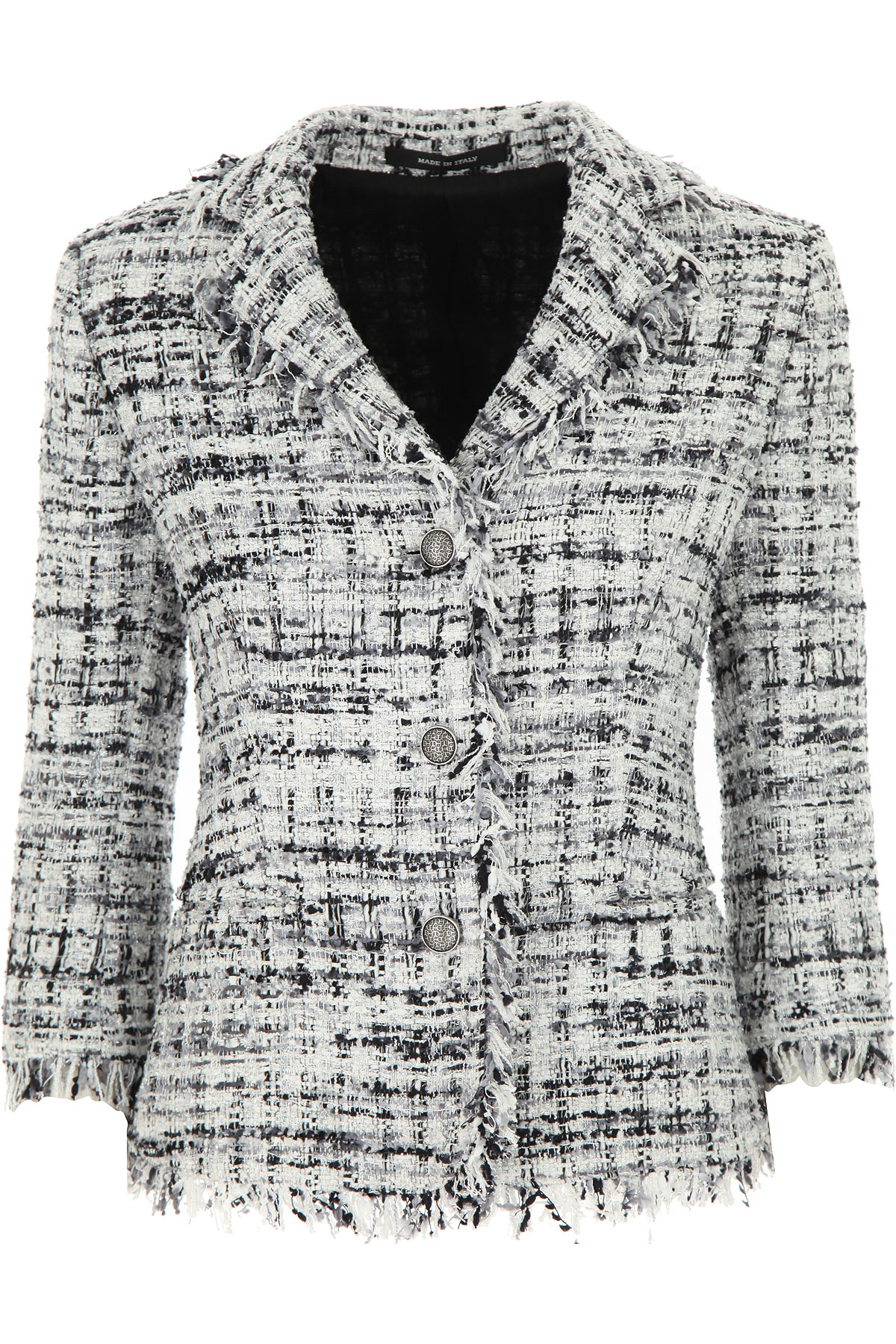 Tagliatore Blazer for Women On Sale, White, polyamide, 2019, 10 4 6 8