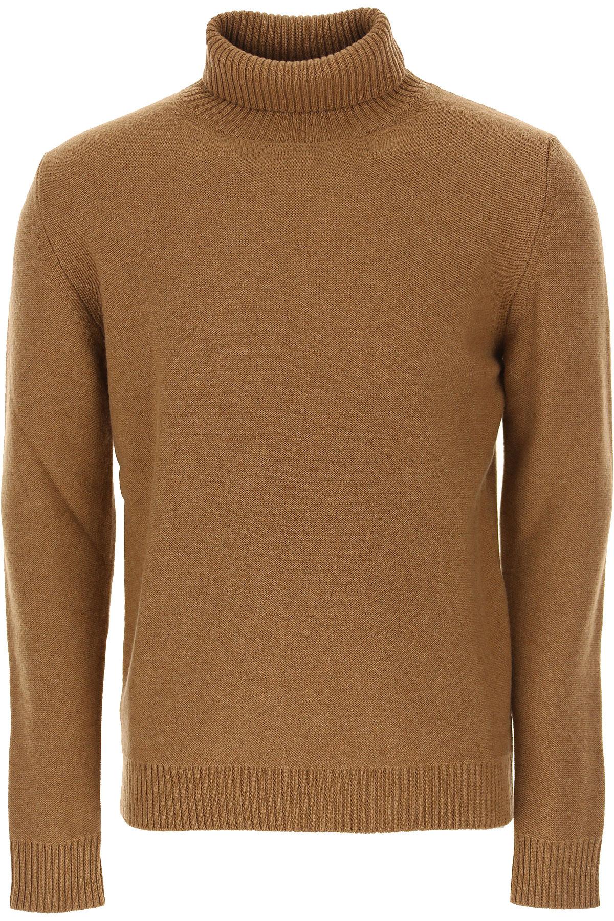 The Gigi Sweater for Men Jumper On Sale, Brown, Wool, 2019, L M XL