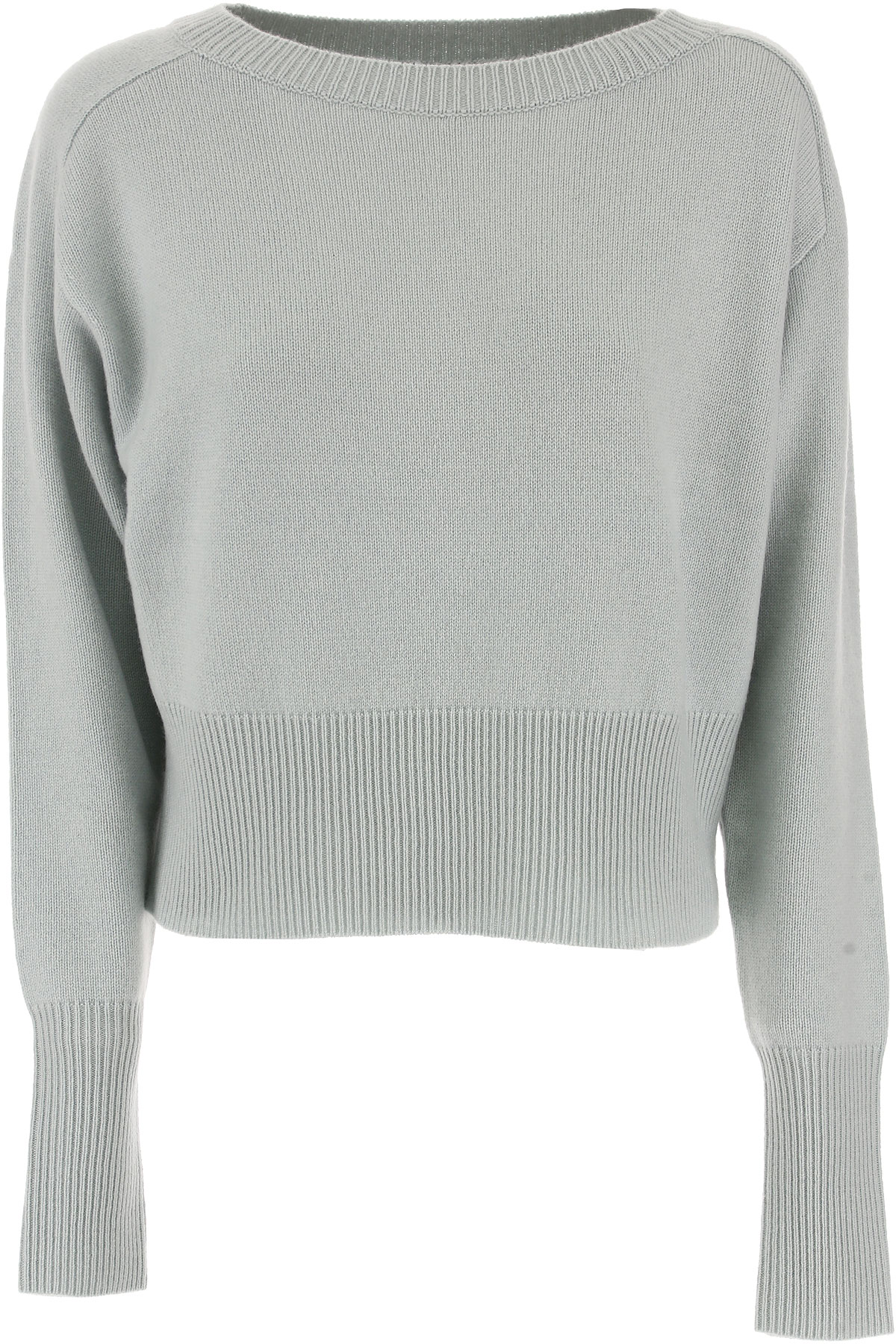 Image of Theory Sweater for Women Jumper On Sale, Winter Green, Cashmere, 2017, 2 4 6