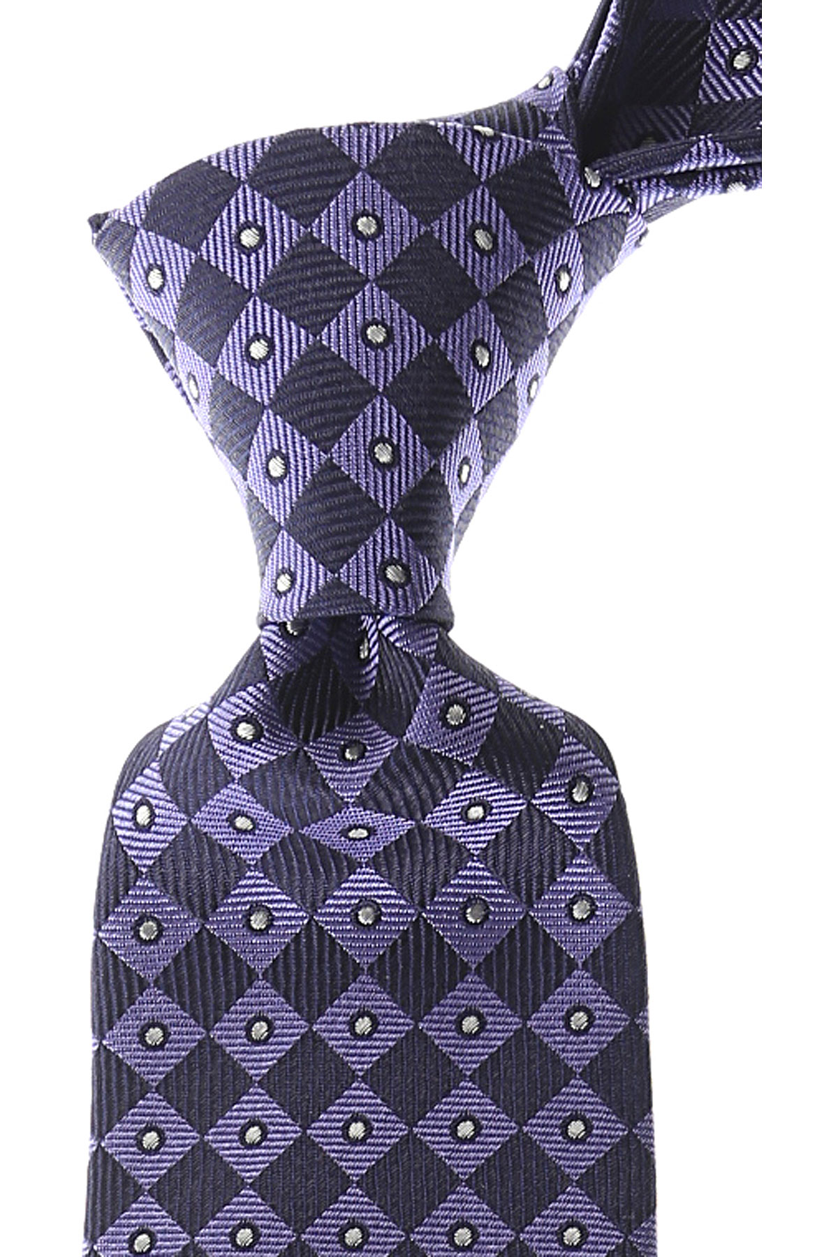Gianni_Versace_Krawatten_Günstig_im_Sale_Violettblau_Seide_2019