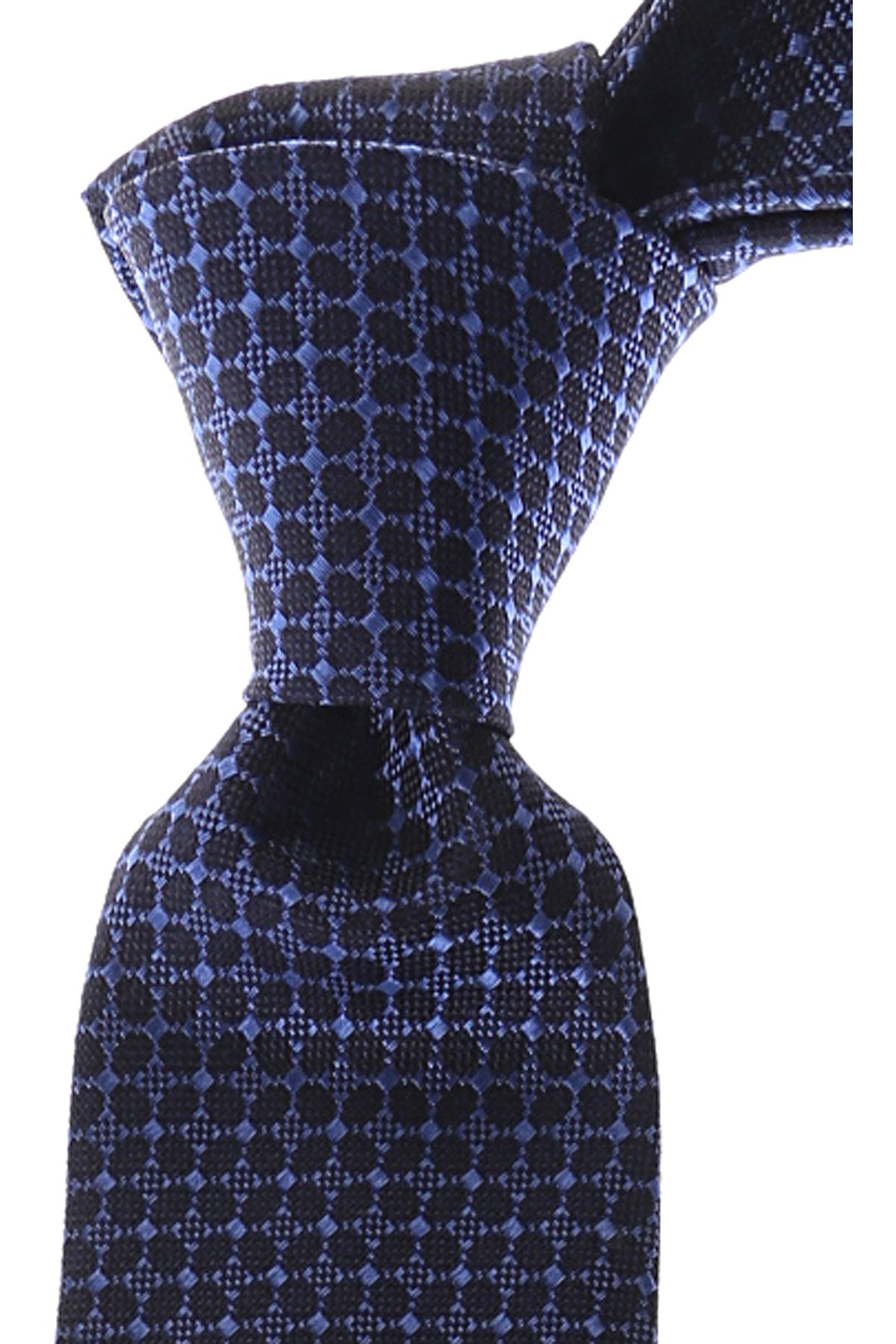 Gianni_Versace_Ties_On_Sale_Dark_Blue_Navy_Silk_2019