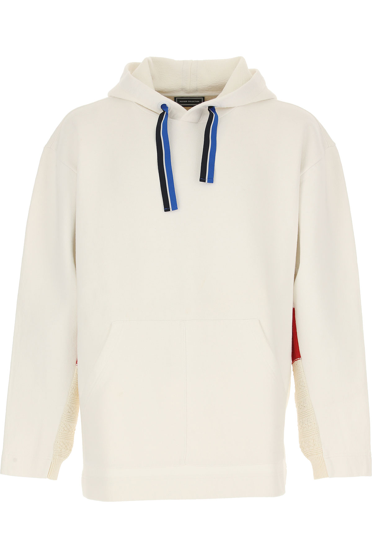 Tommy Hilfiger Jeans On Sale in Outlet, White, Cotton, 2019, L M