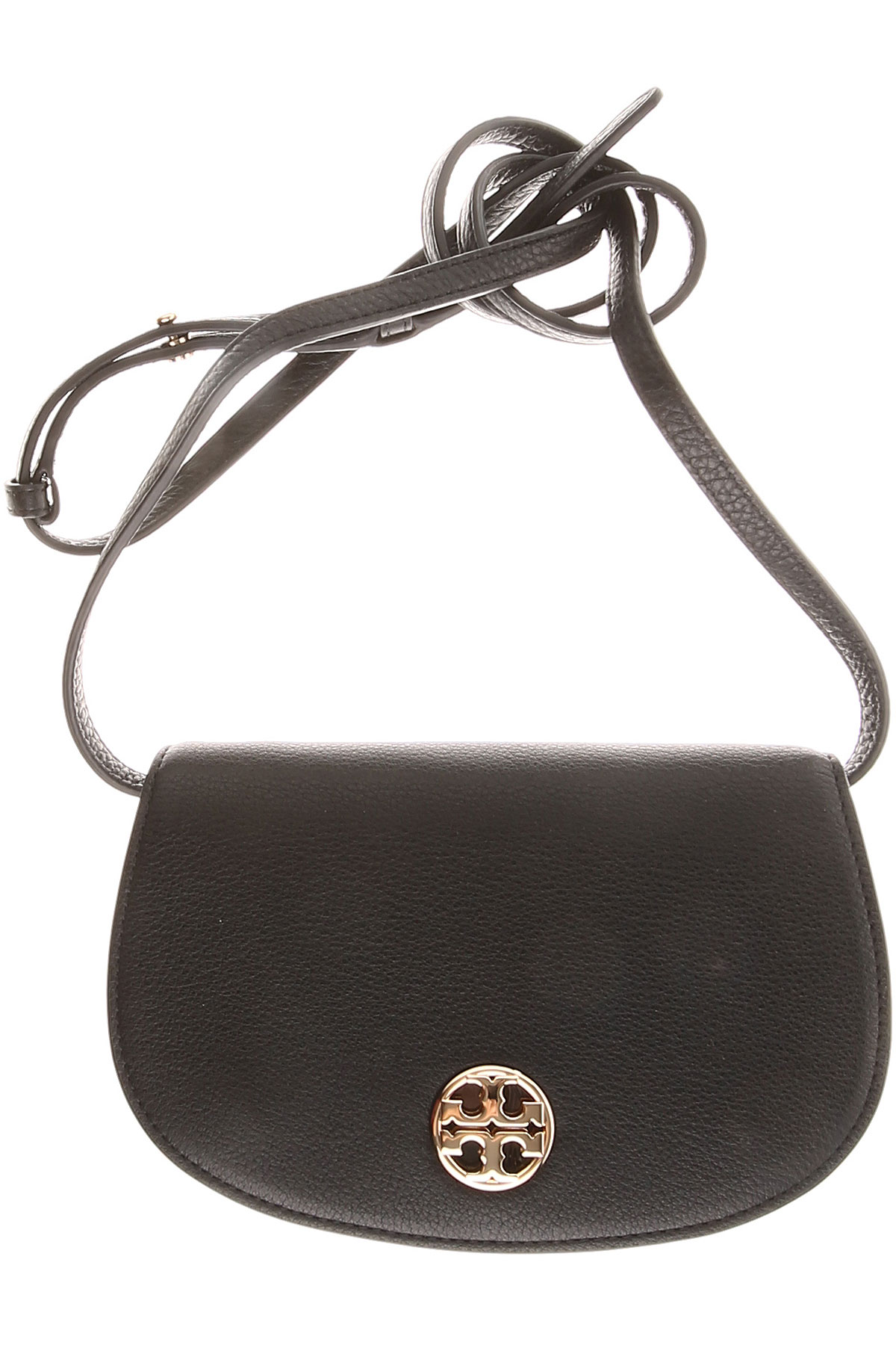 Tory Burch Shoulder Bag for Women On Sale, Black, Leather, 2017 USA-426657