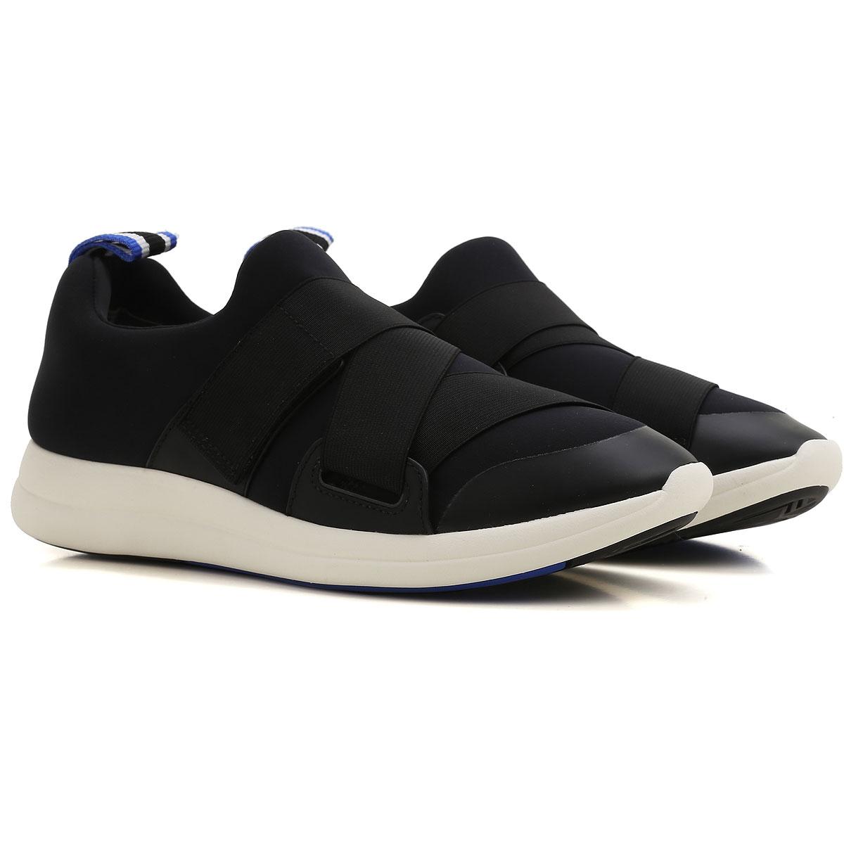 Tory Burch Sneaker Femme , Noir, Néoprène, 2017, 35 36 36.5 37 37.5 38.5 39
