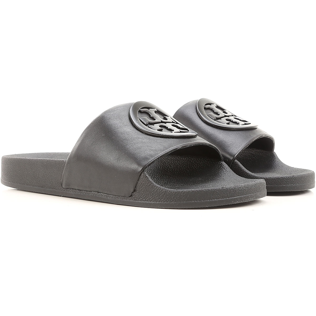 Tory Burch Sandals for Women, Black, Leather, 2017, 10 5 6 7 8 9 USA-437964