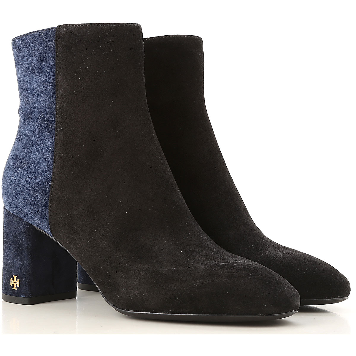 Tory Burch Boots for Women, Booties On Sale in Outlet, Perfect Black, Suede leather, 2019, 11 6