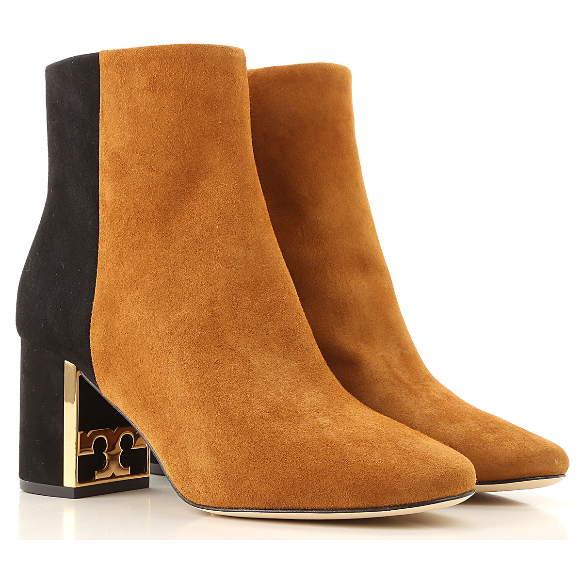 Tory Burch Boots for Women, Booties On Sale, Dark Tiramisu, Leather, 2019, 6 6.5 7 8