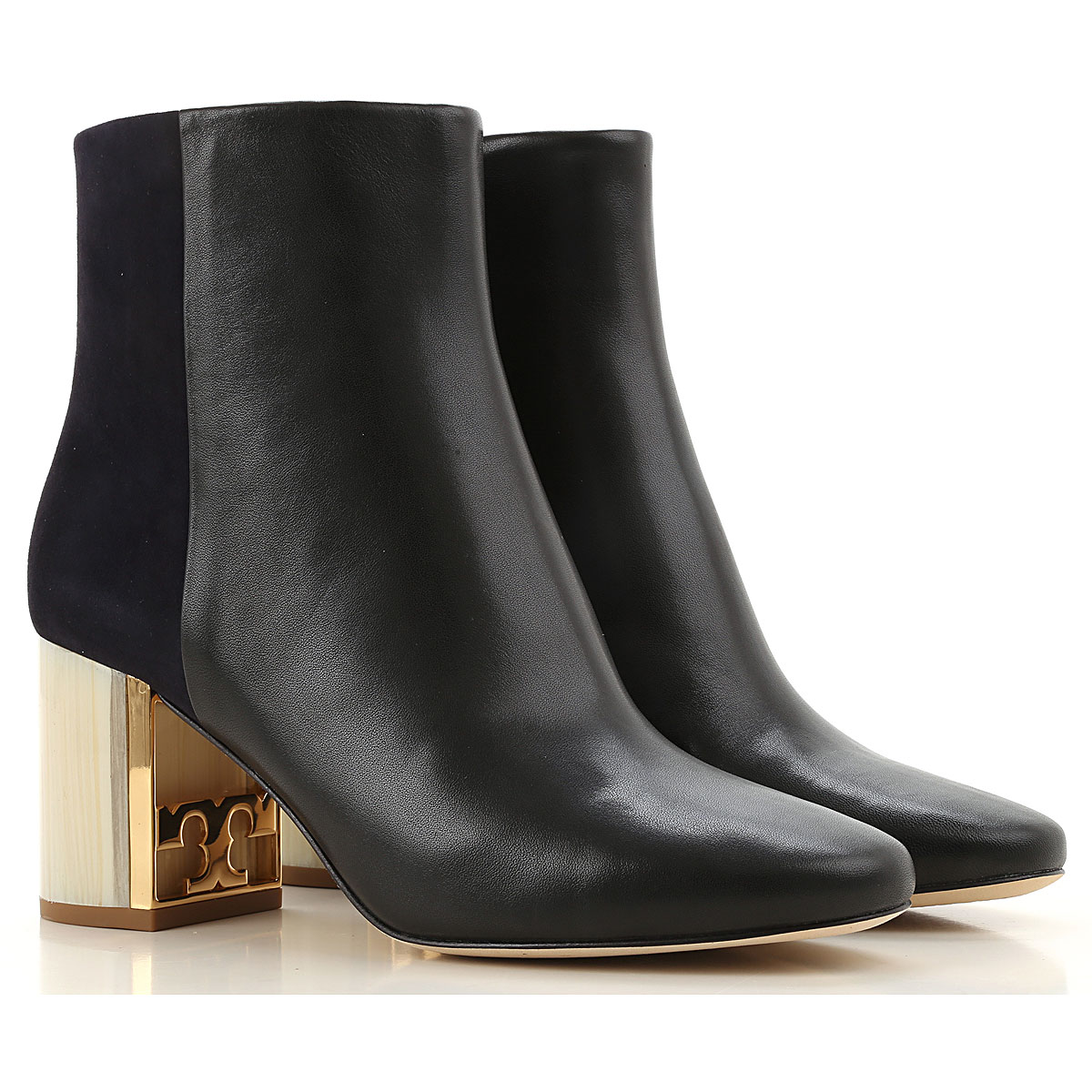 Tory Burch Boots for Women, Booties On Sale, Black, Leather, 2019, 6 7 8