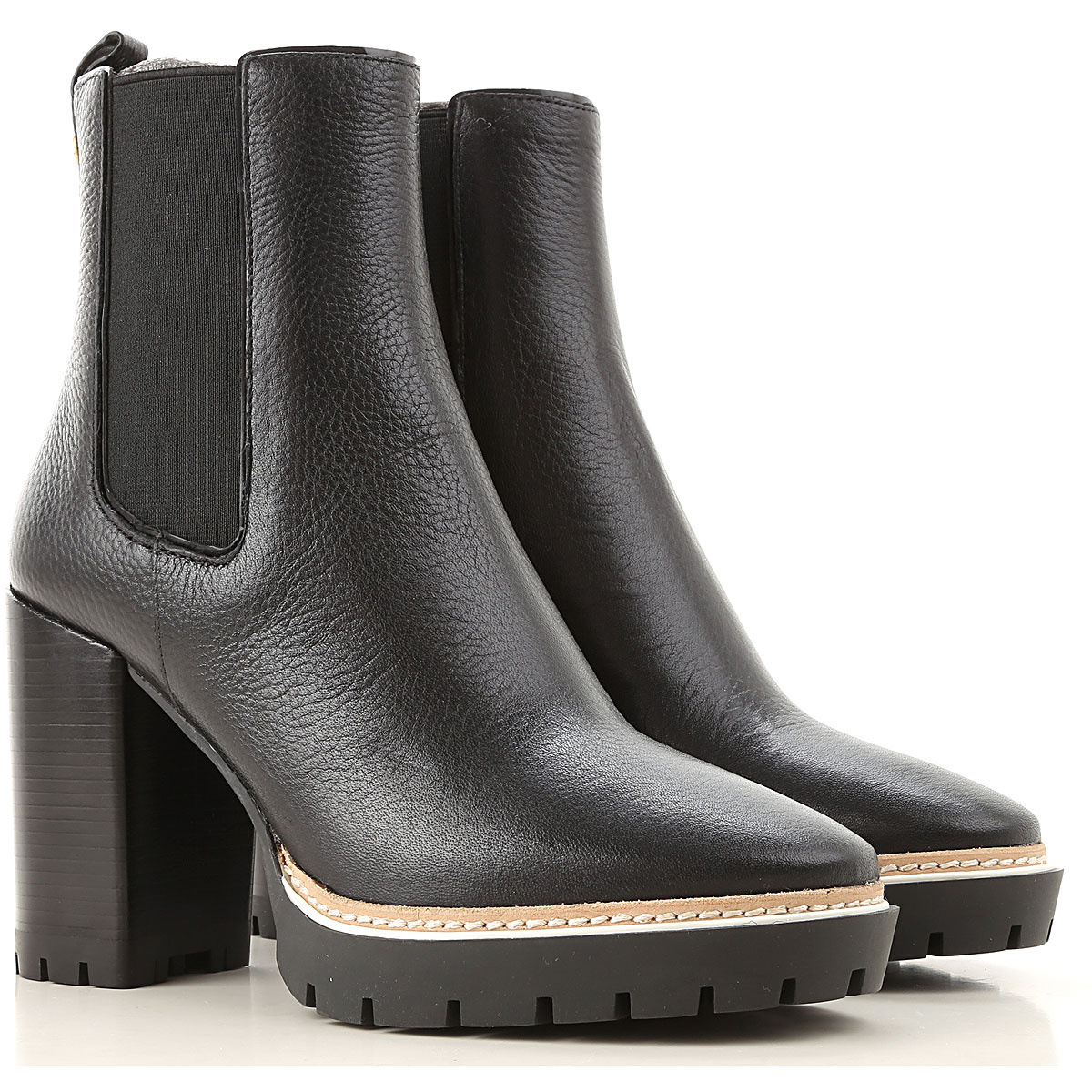Tory Burch Boots for Women, Booties On Sale, Perfect Black, Leather, 2019, 10 11 5 6 8 9