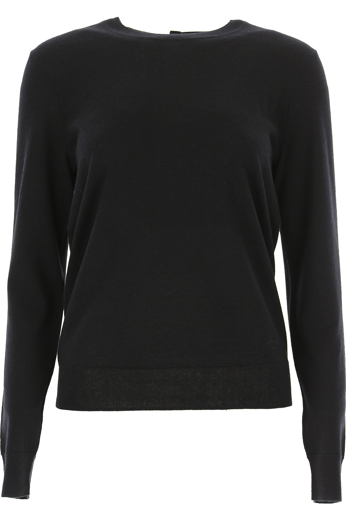 Tory Burch Sweater for Women Jumper, Black, Cashemere, 2017, 2 4 6 8 USA-466034
