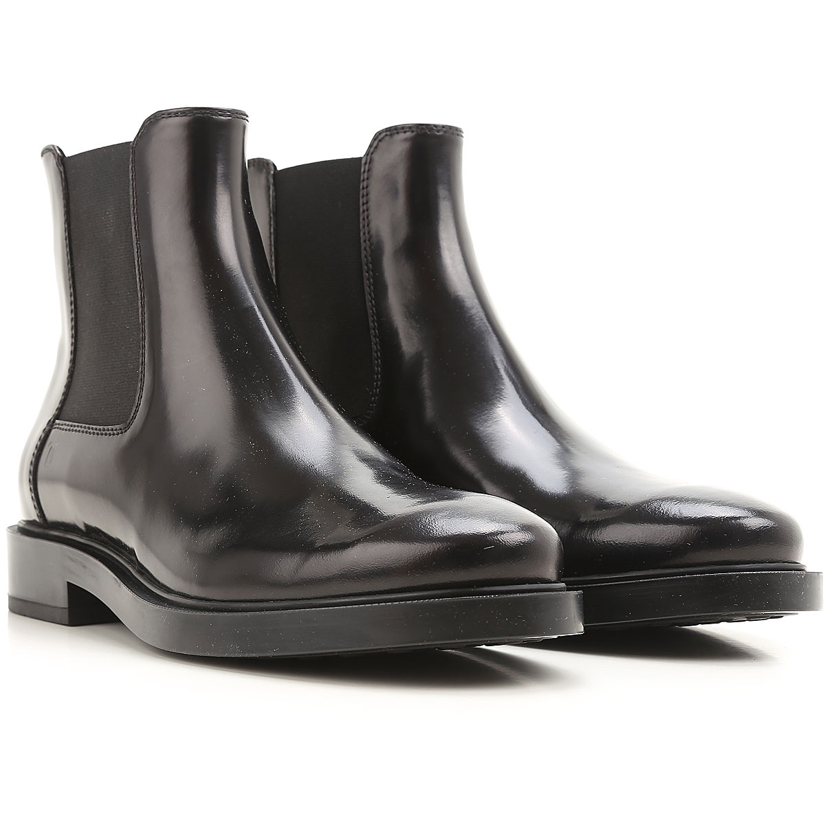 Tods Boots for Women, Booties, Black, Leather, 2019, 11 5 6 6.5 7 8 8.5 9