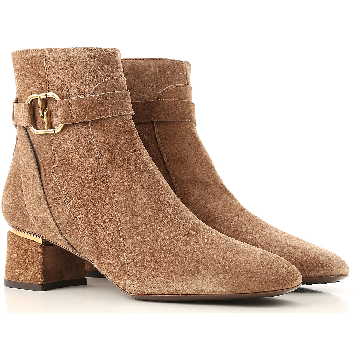 Tods Boots for Women, Booties On Sale, Taupe, Suede leather, 2017, 10 6.5 7 8 8.5