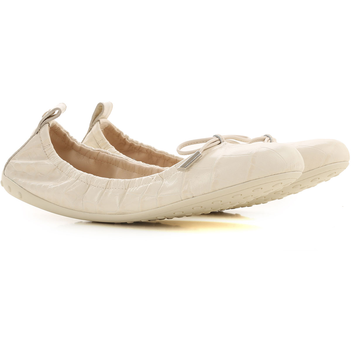 Tods Ballet Flats Ballerina Shoes for Women On Sale, mousse, Leather, 2019, 5 5.5 6 6.5 7