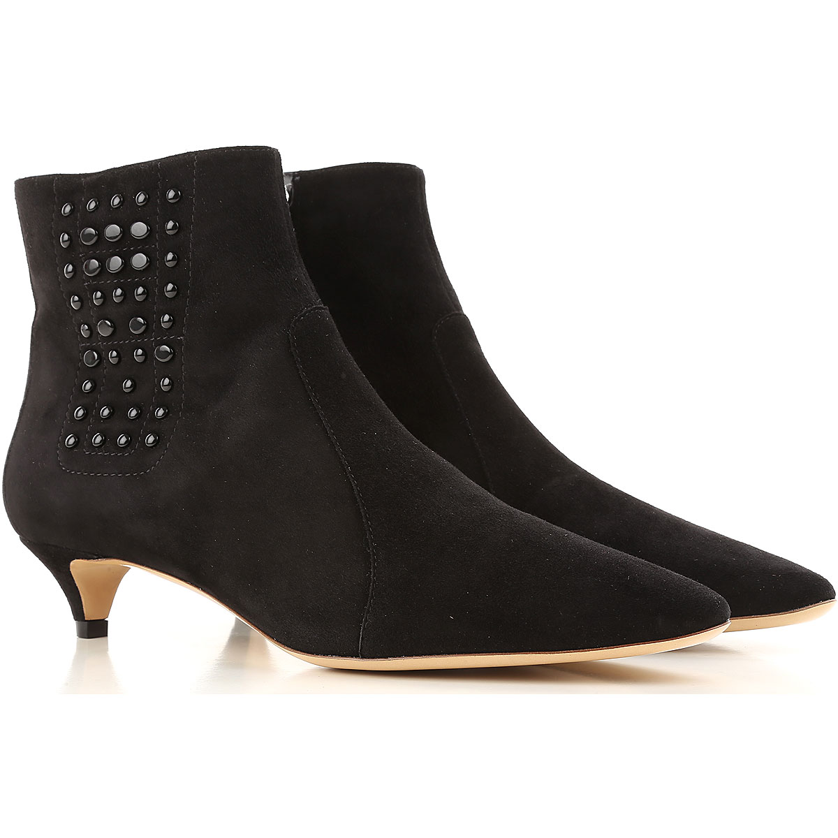 Tods Boots for Women, Booties On Sale, Black, suede, 2019, 6 6.5
