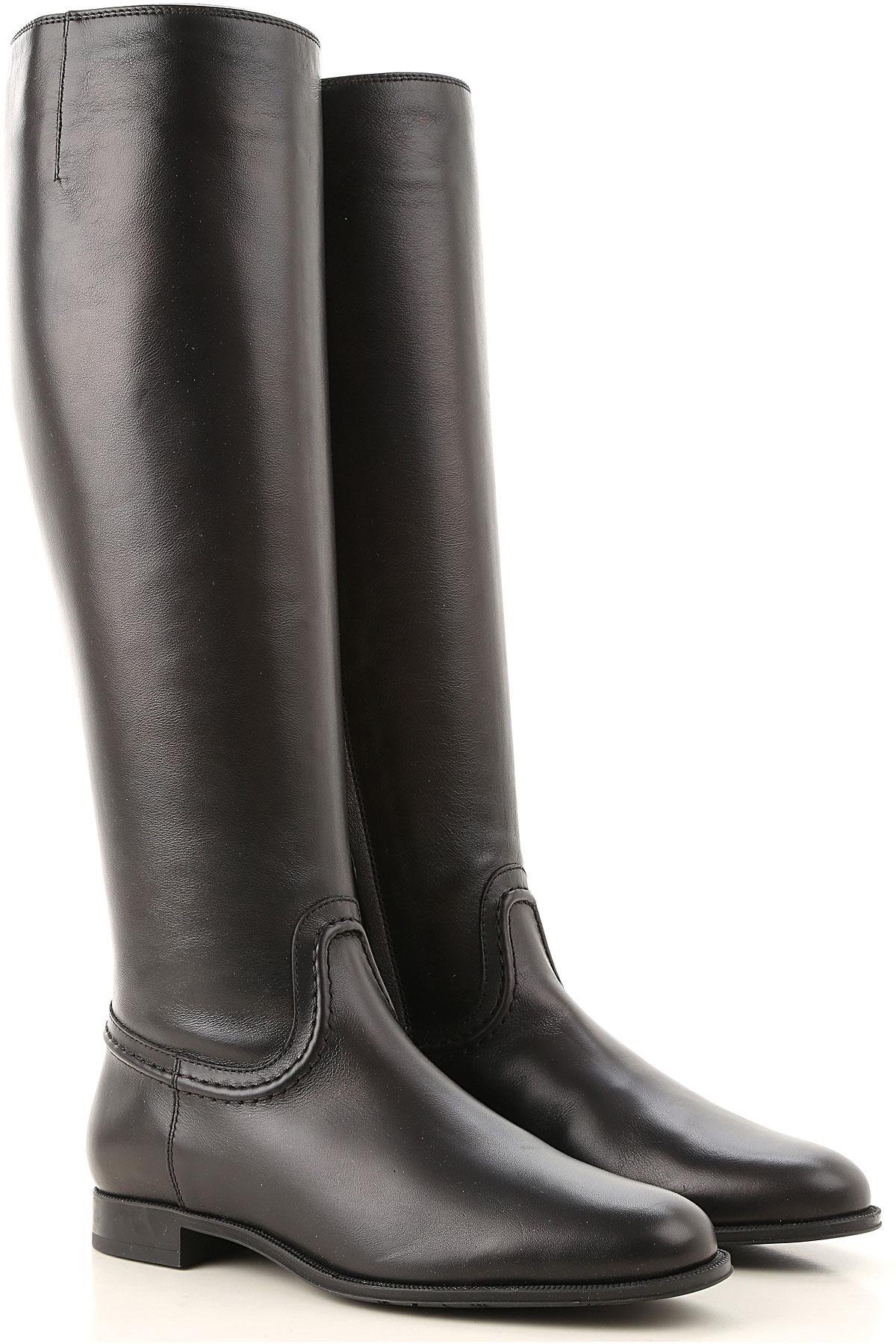 Tods Boots for Women, Booties On Sale, Black, Leather, 2019, 11 5 8 8.5 9