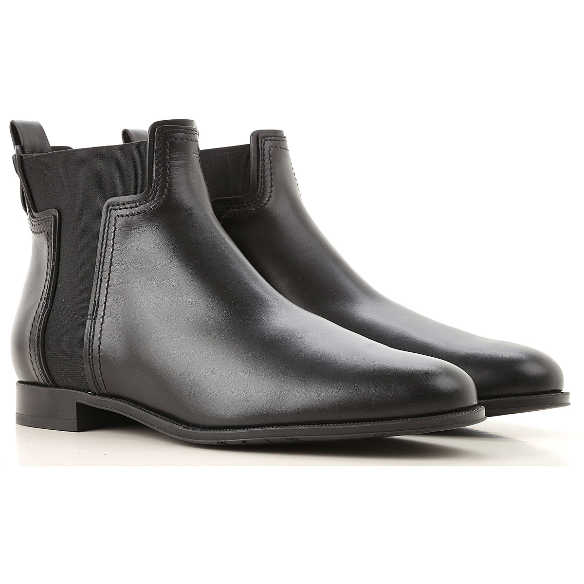 Tods Boots for Women, Booties On Sale, Black, Leather, 2019, 11 5.5 6 6.5 7 8 8.5 9 9.5