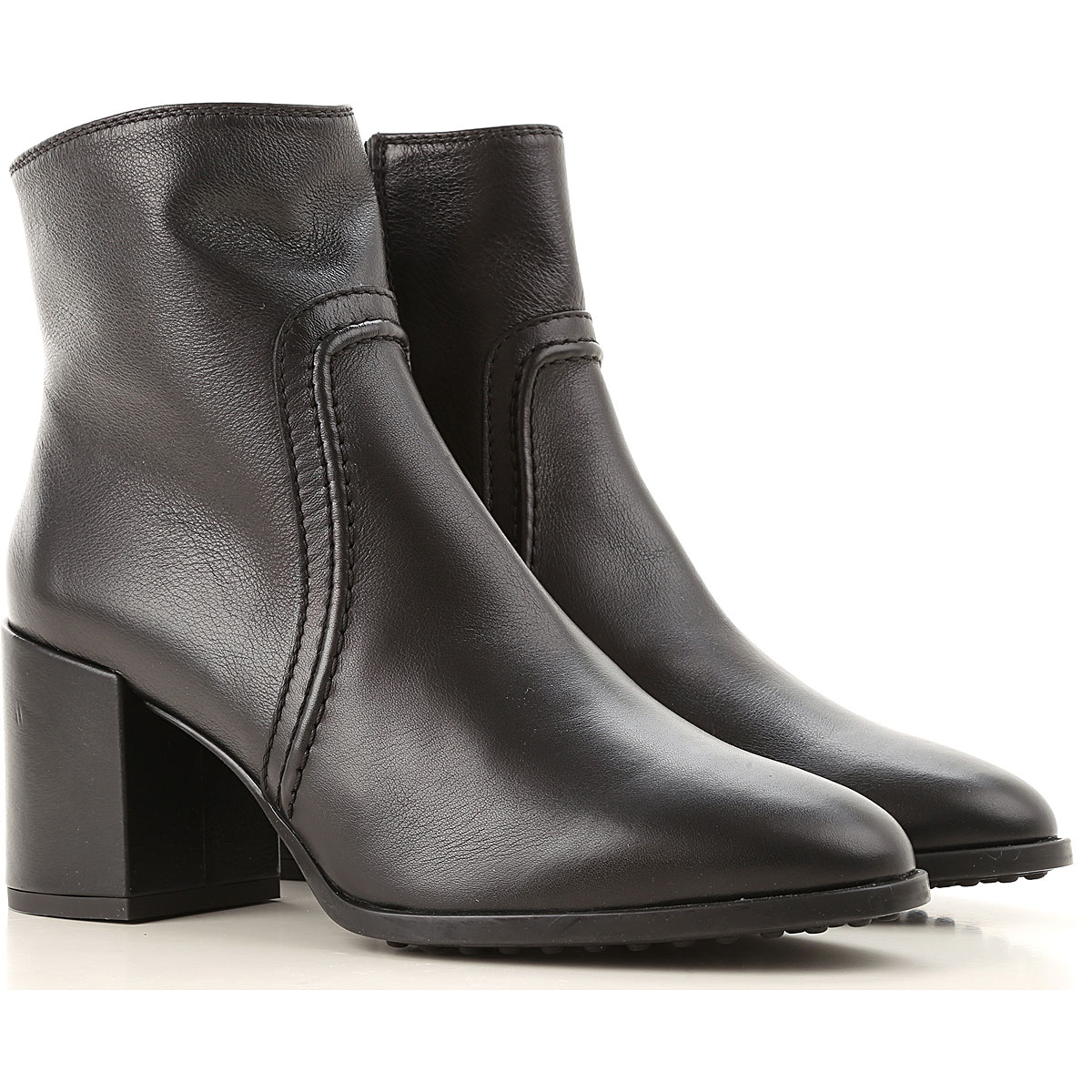 Tods Boots for Women, Booties On Sale, Black, Leather, 2019, 10 11 5 6 7 8 8.5 9 9.5
