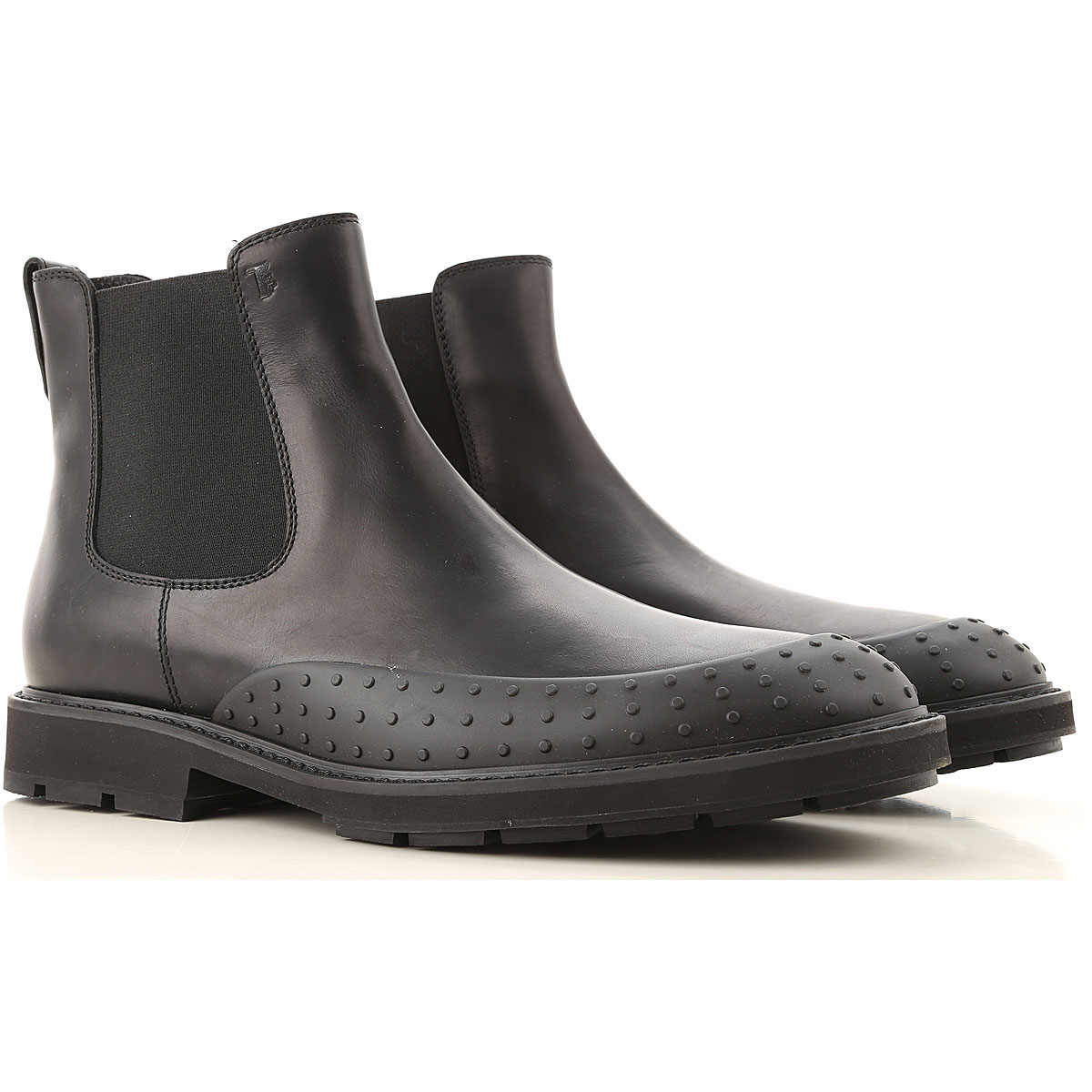 Tods Boots for Men, Booties On Sale in Outlet, Black, Leather, 2019, 10 11 6 7.5 8 9 9.5