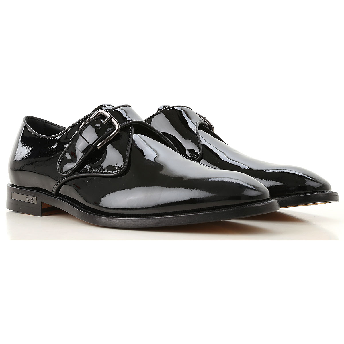 Image of Tods Oxford Shoes for Men, Black, Patent Leather, 2017, 7.5 8.5 9.5
