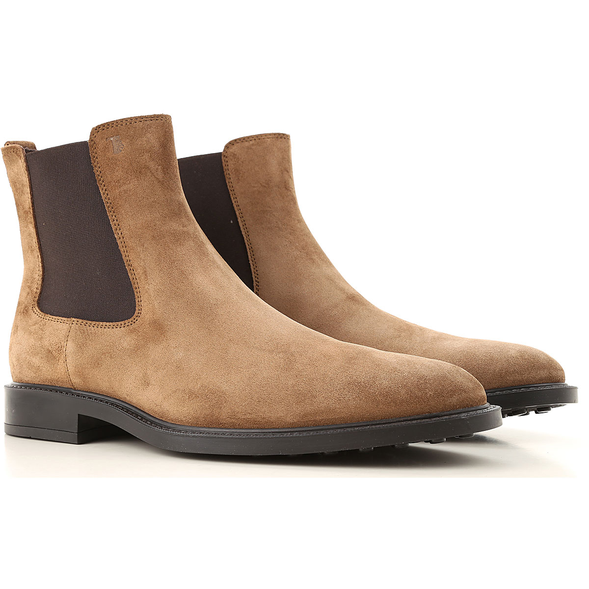 Tods Boots for Men, Booties On Sale, Nut Brown, suede, 2019, 10.5 11 9.5