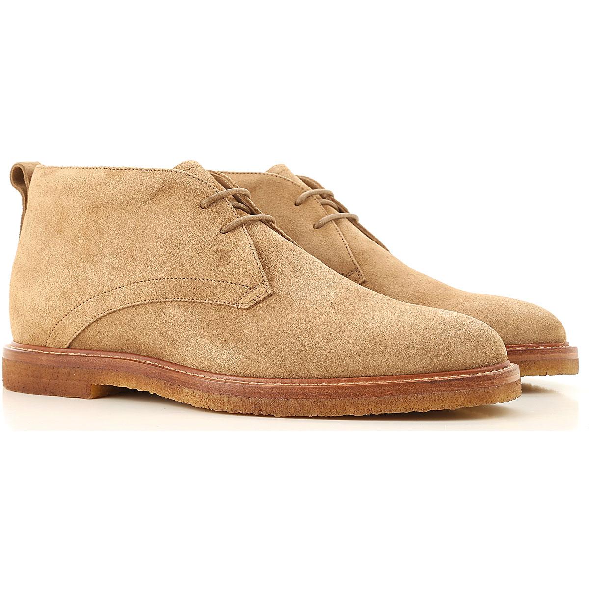 Tods Boots for Men, Booties On Sale, Beige, suede, 2019, 10 10.5 11 12 14 8.5 9.5