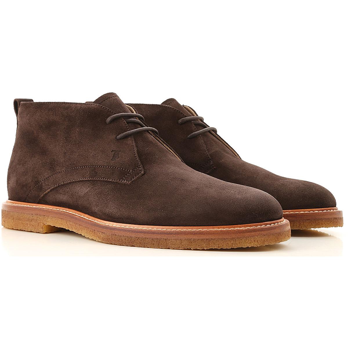 Tods Boots for Men, Booties On Sale, Dark Brown, suede, 2019, 10.5 11 7 8.5 9 9.5