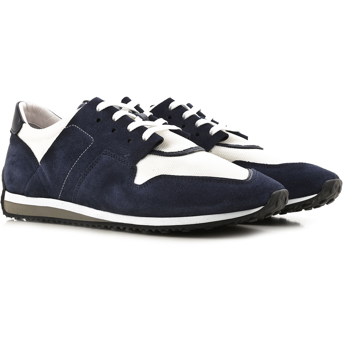 Image of Tods Jeans On Sale, Blue Navy, suede, 2017, 10 8.5 9