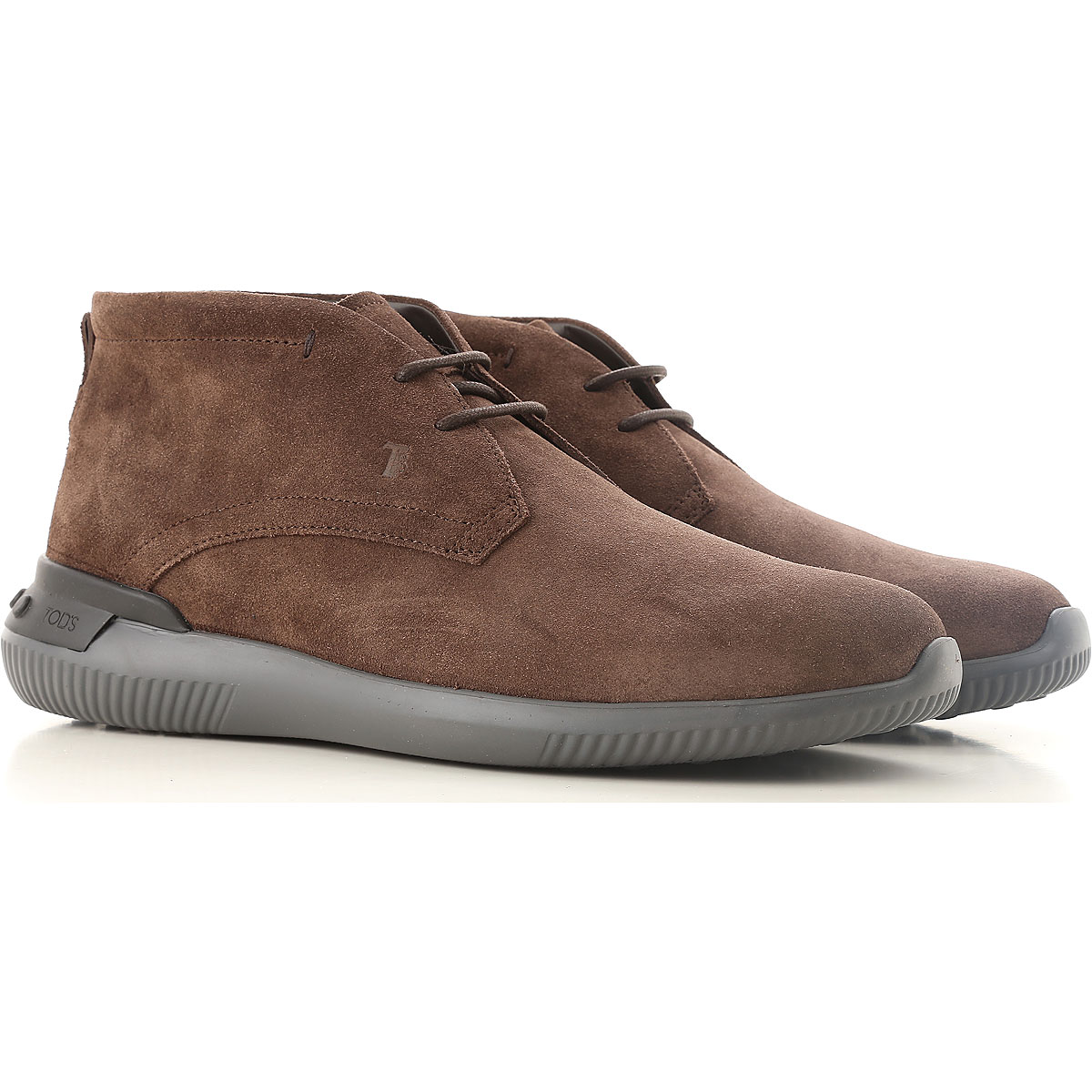 Tods Boots for Men, Booties On Sale in Outlet, Brown, Suede leather, 2019, 11 7.5