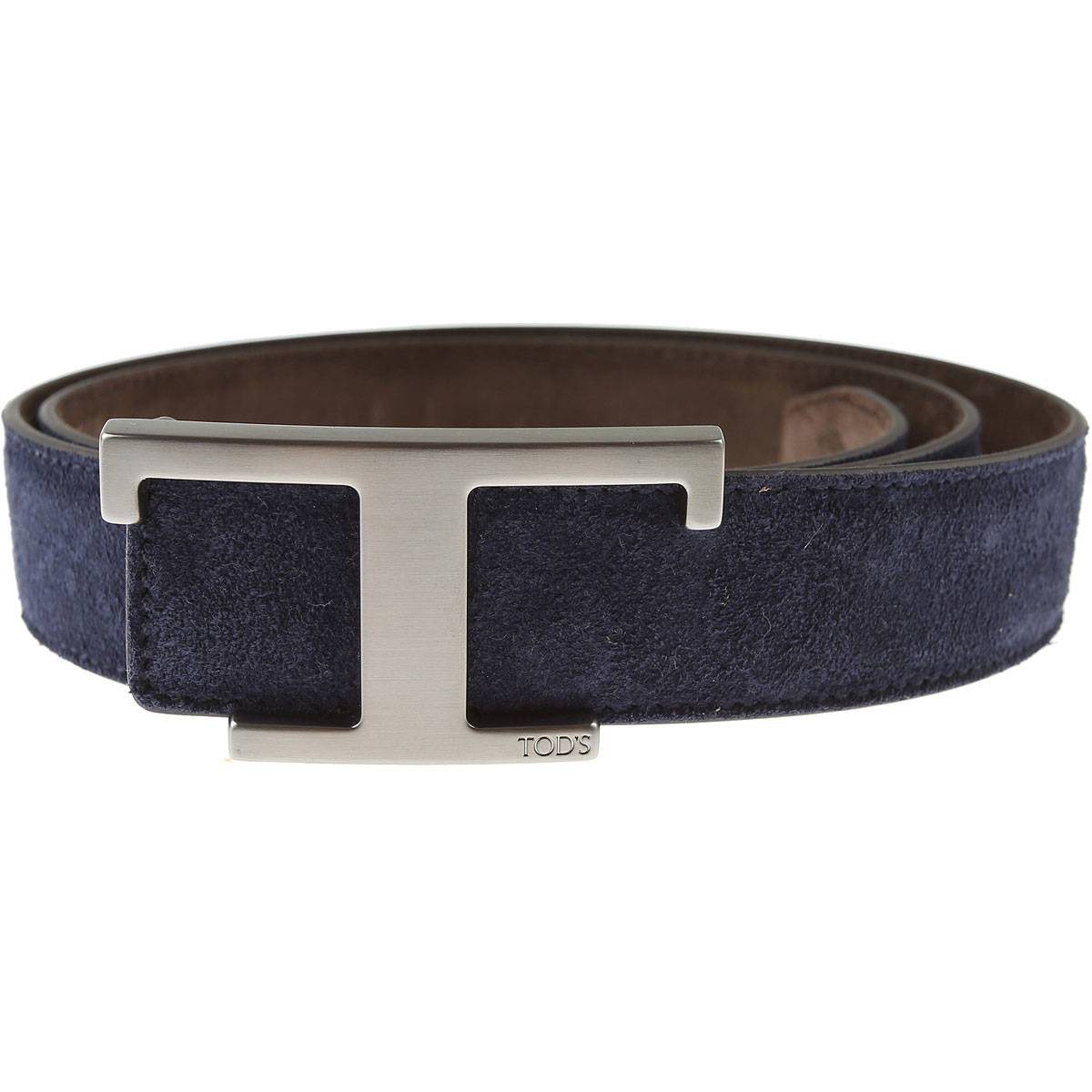 Tods Belts On Sale, Ink Blue, Leather, 2019, 40 42 44
