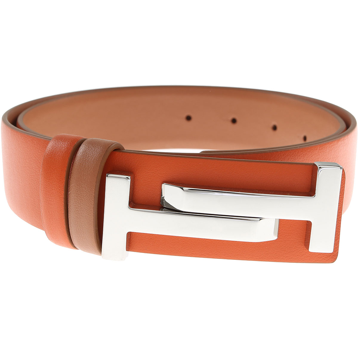Tods Womens Belts On Sale, Brick Orange, Leather, 2017, 36 inches - 90 cm 32 inches - 80 cm 34 inches - 85 cm 38 inches - 95 cm 30 inches - 75 cm