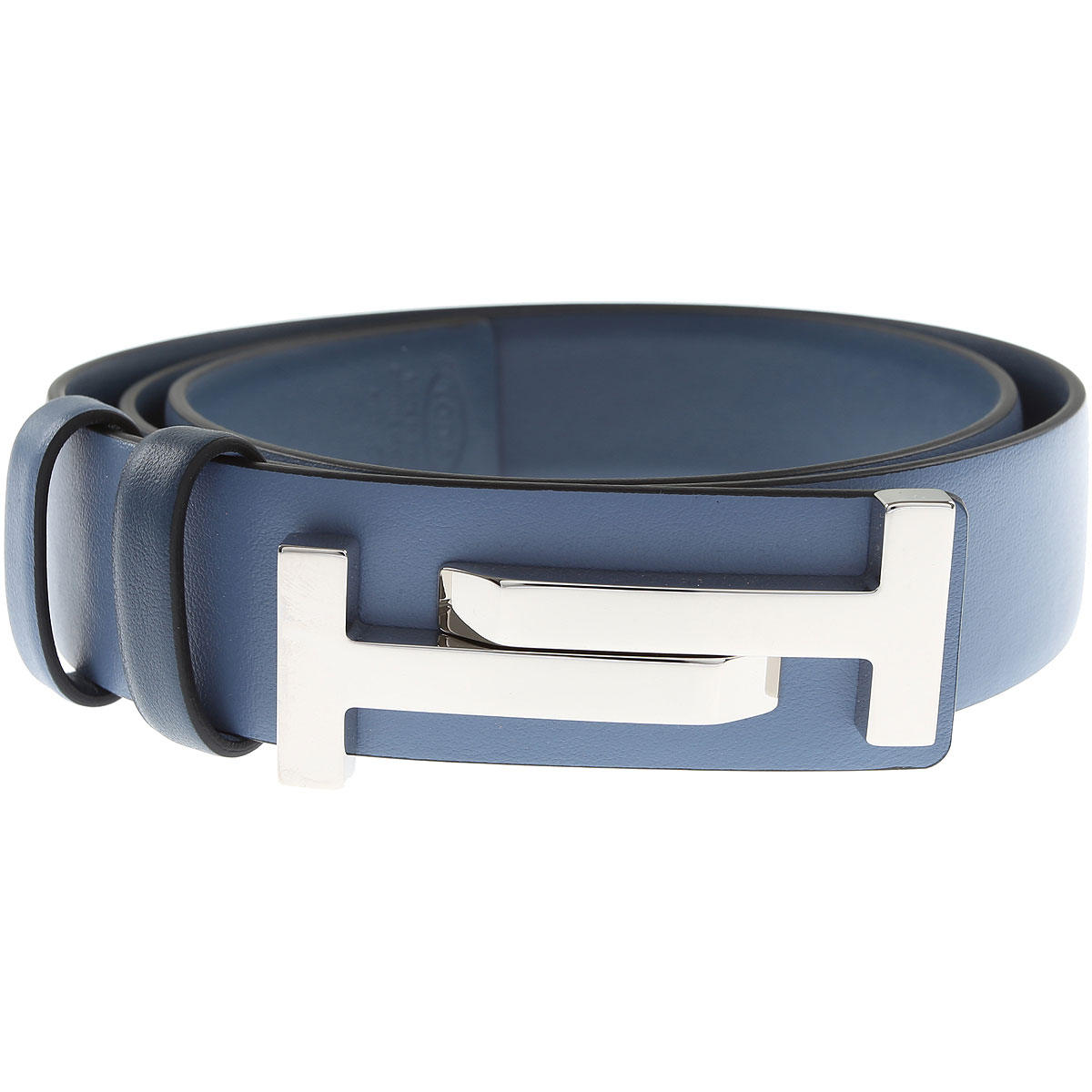 Tods Womens Belts On Sale, Blue, Leather, 2017, 36 inches - 90 cm 32 inches - 80 cm 38 inches - 95 cm 30 inches - 75 cm
