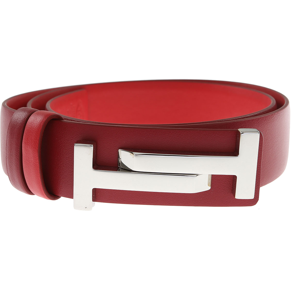 Tods Womens Belts On Sale, Red, Leather, 2017, 36 inches - 90 cm 32 inches - 80 cm 38 inches - 95 cm
