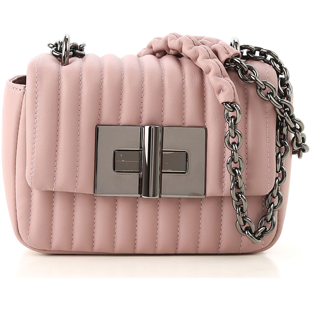 Image of Tom Ford Shoulder Bag for Women, Pink, Leather, 2017