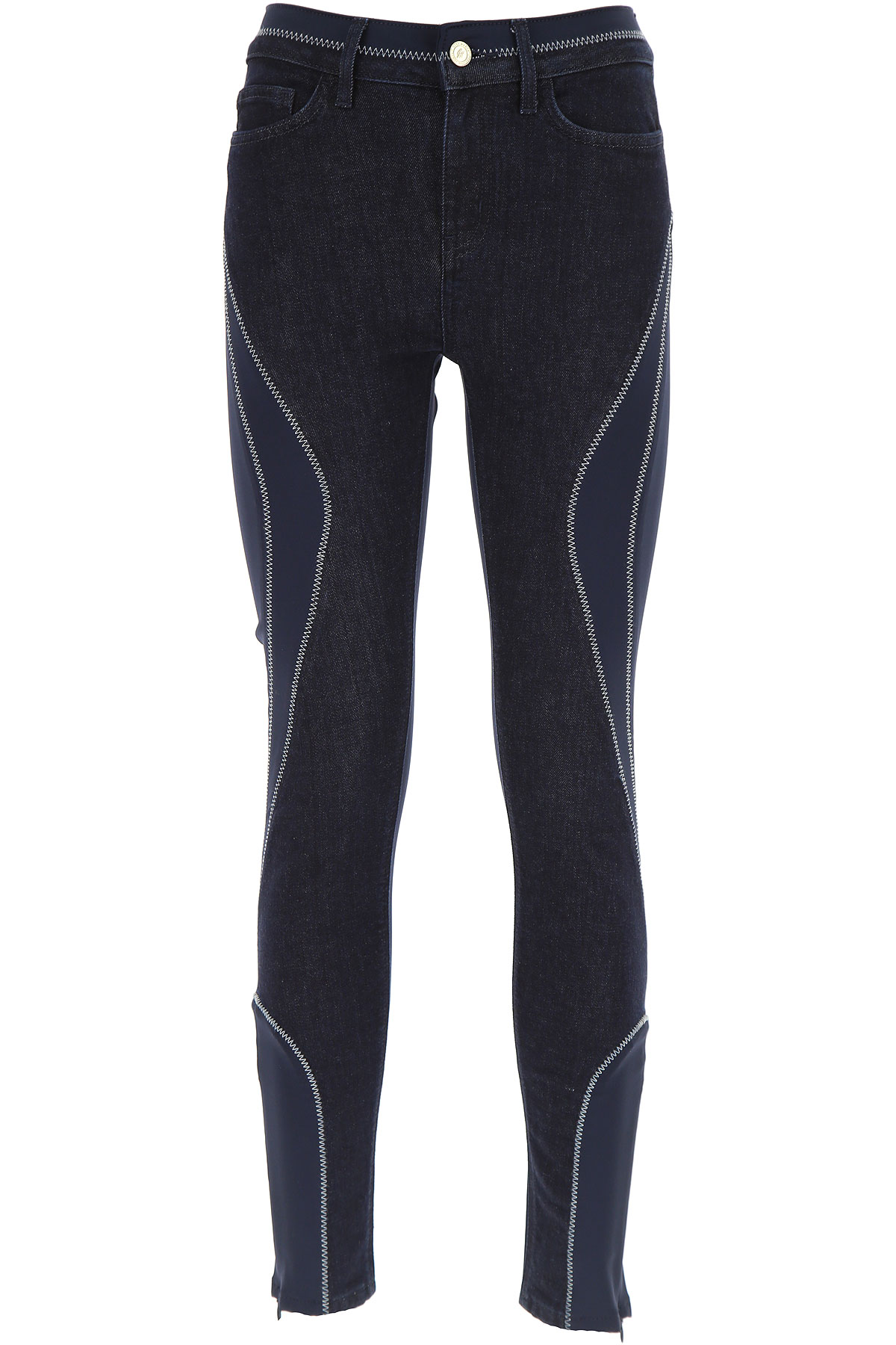 Tommy Hilfiger Jeans On Sale, A Special Collection By Gigi Hadid, Navy Blue, Cotton, 2017, 26 29 30 USA-446853